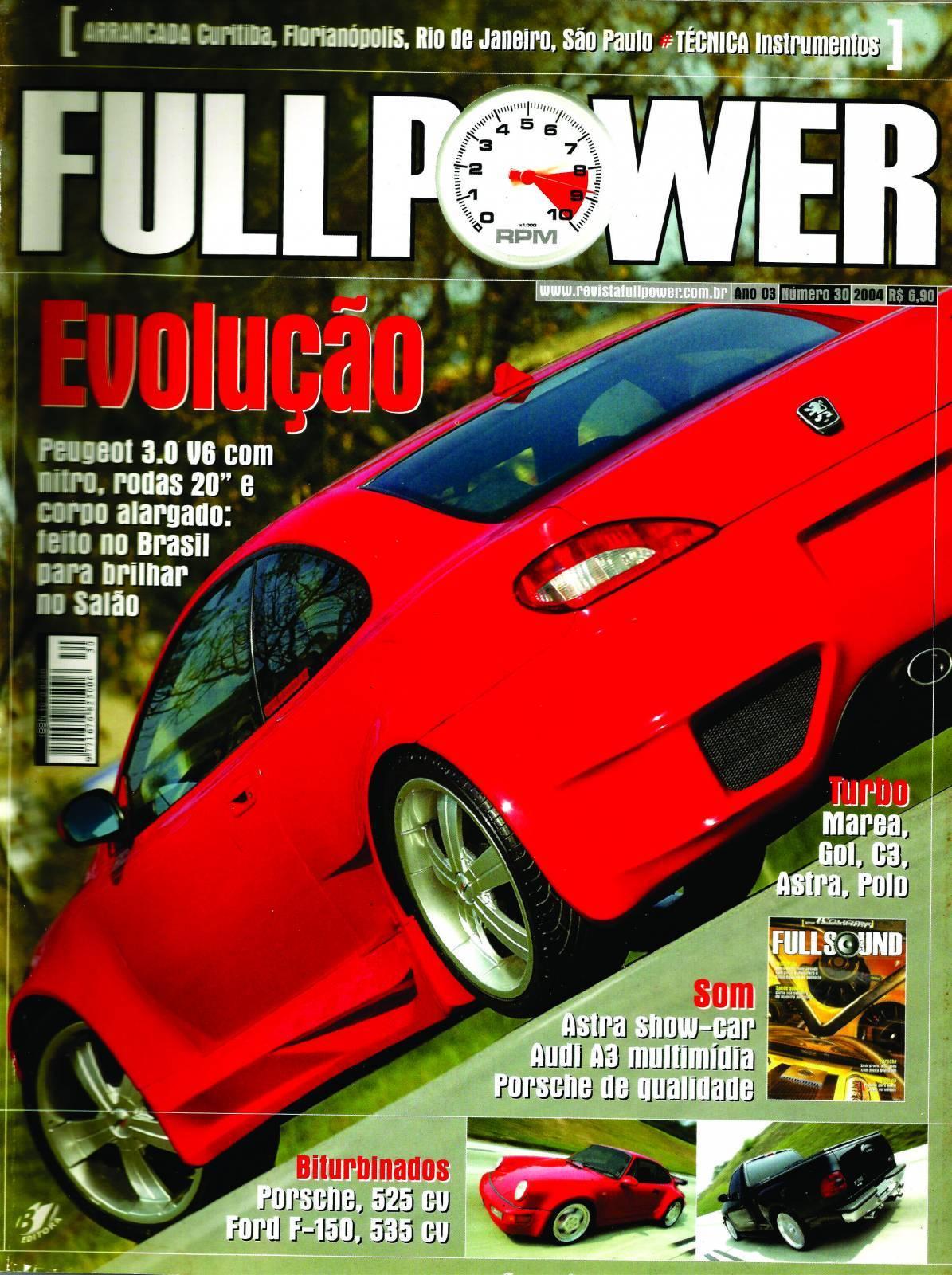 REVISTA FULLPOWER No. 30 ANO 2004 - Loja FullPower