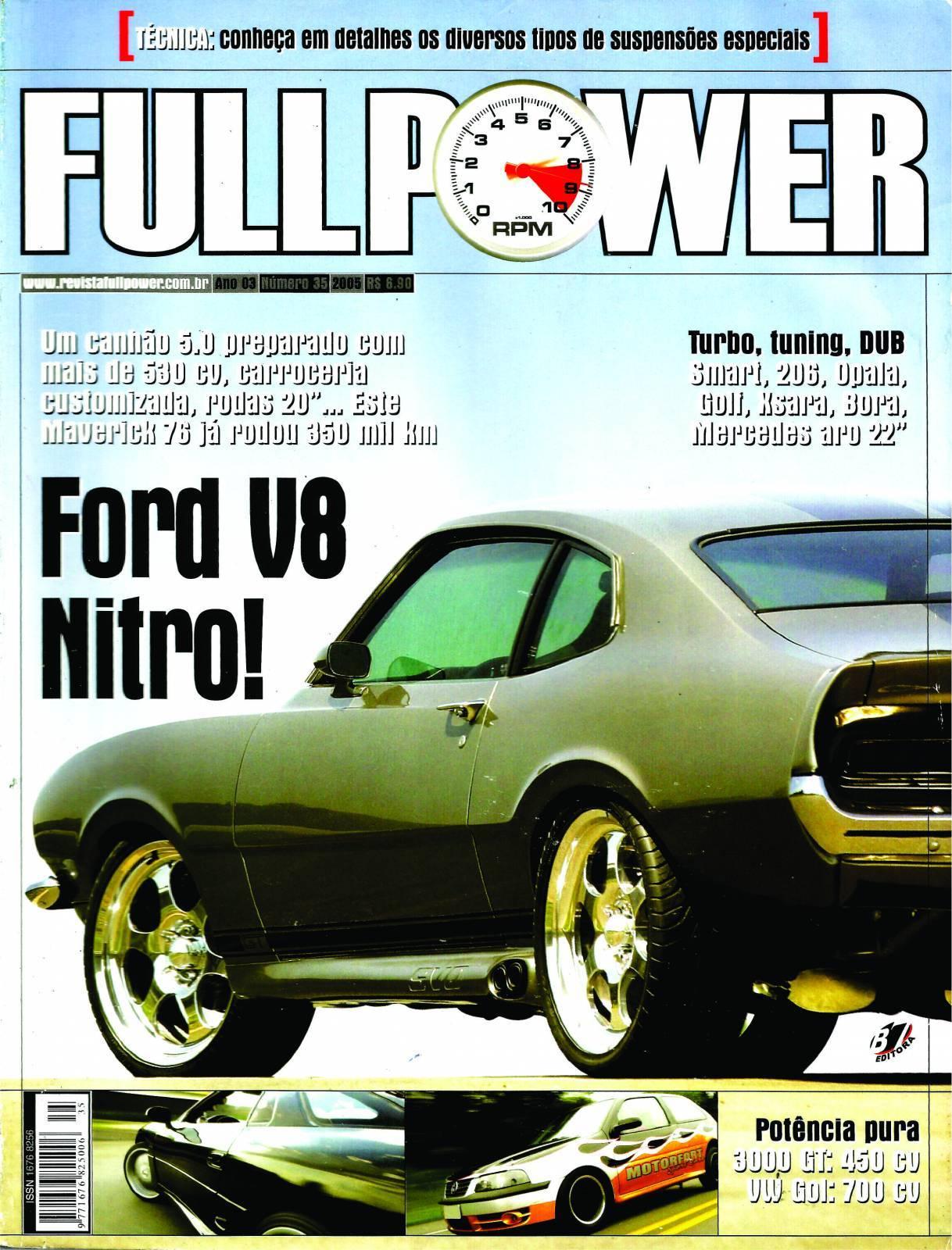 REVISTA FULLPOWER No. 35 ANO 2005 - Loja FullPower