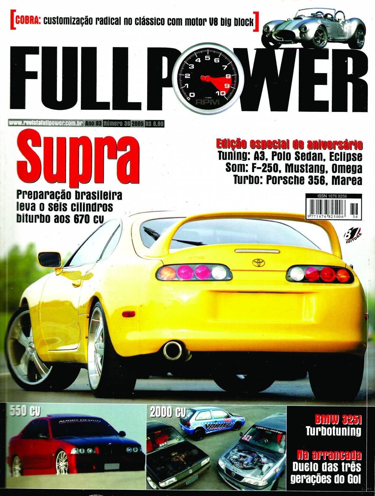 REVISTA FULLPOWER No. 36 ANO 2005 - Loja FullPower