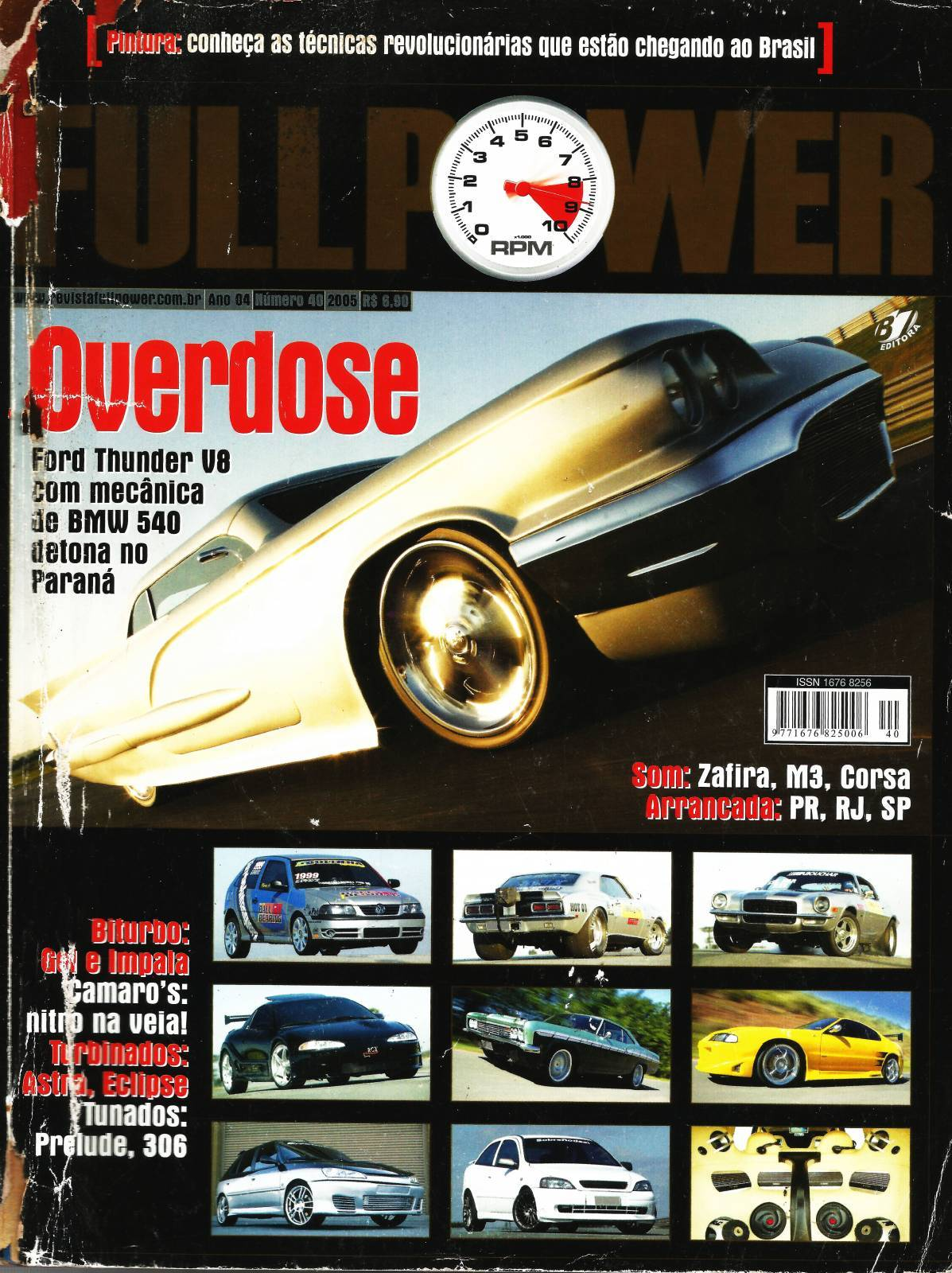 REVISTA FULLPOWER No. 40 ANO 2005 - Loja FullPower