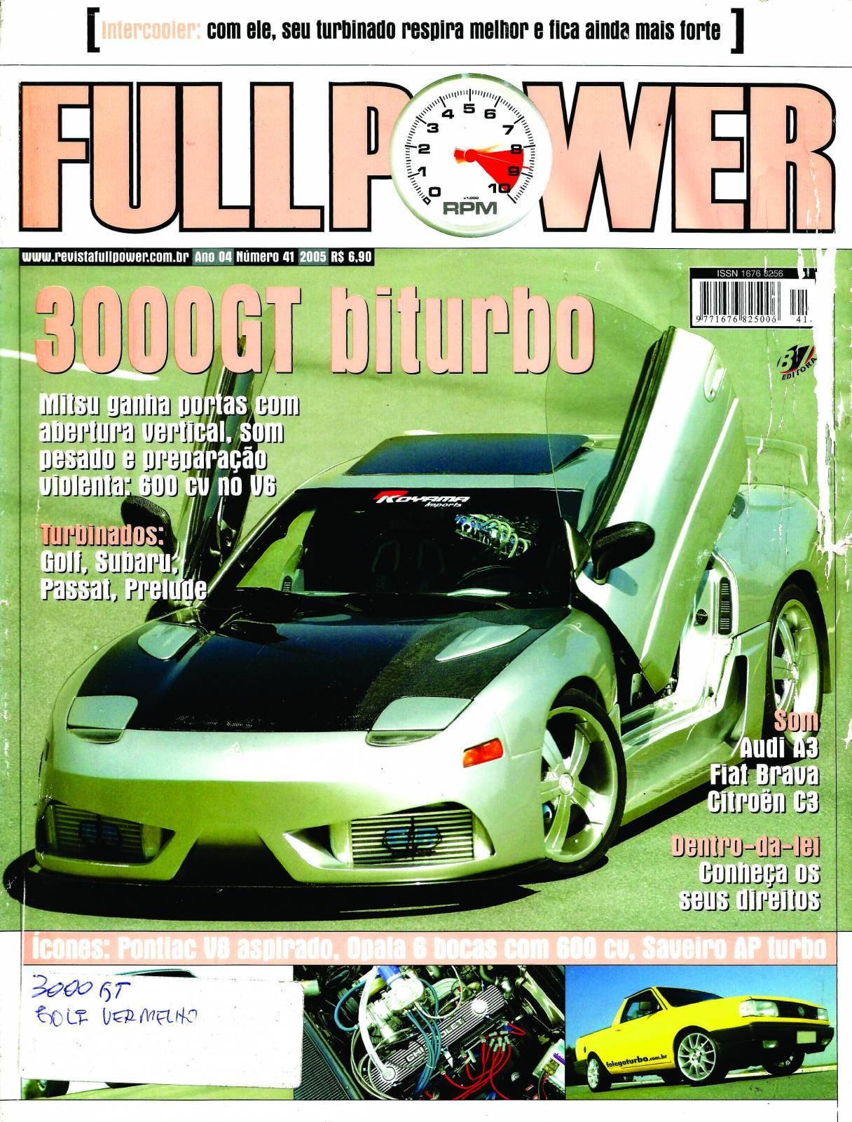 REVISTA FULLPOWER No. 41 ANO 2005 - Loja FullPower