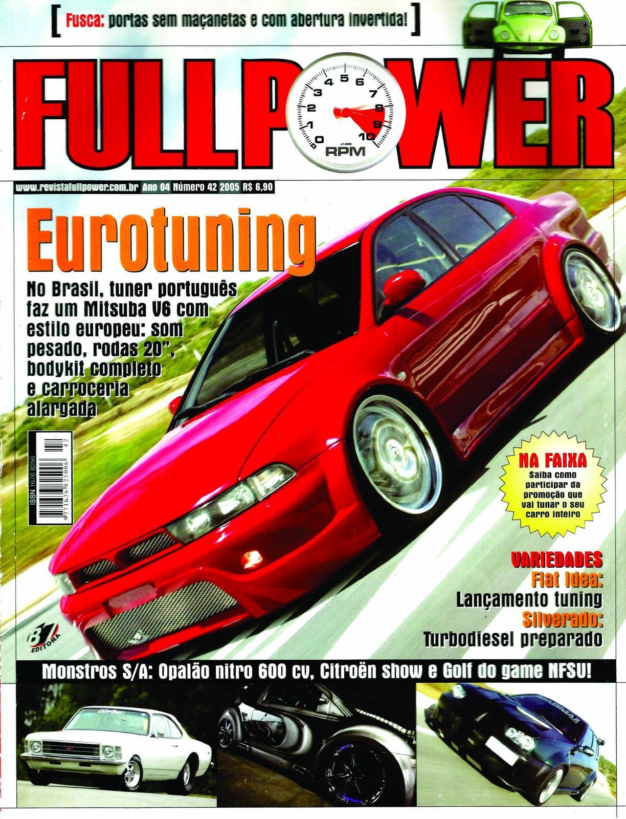 REVISTA FULLPOWER No. 42 ANO 2005 - Loja FullPower