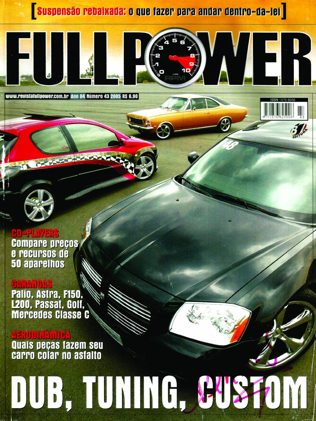REVISTA FULLPOWER No. 43 ANO 2005 - Loja FullPower