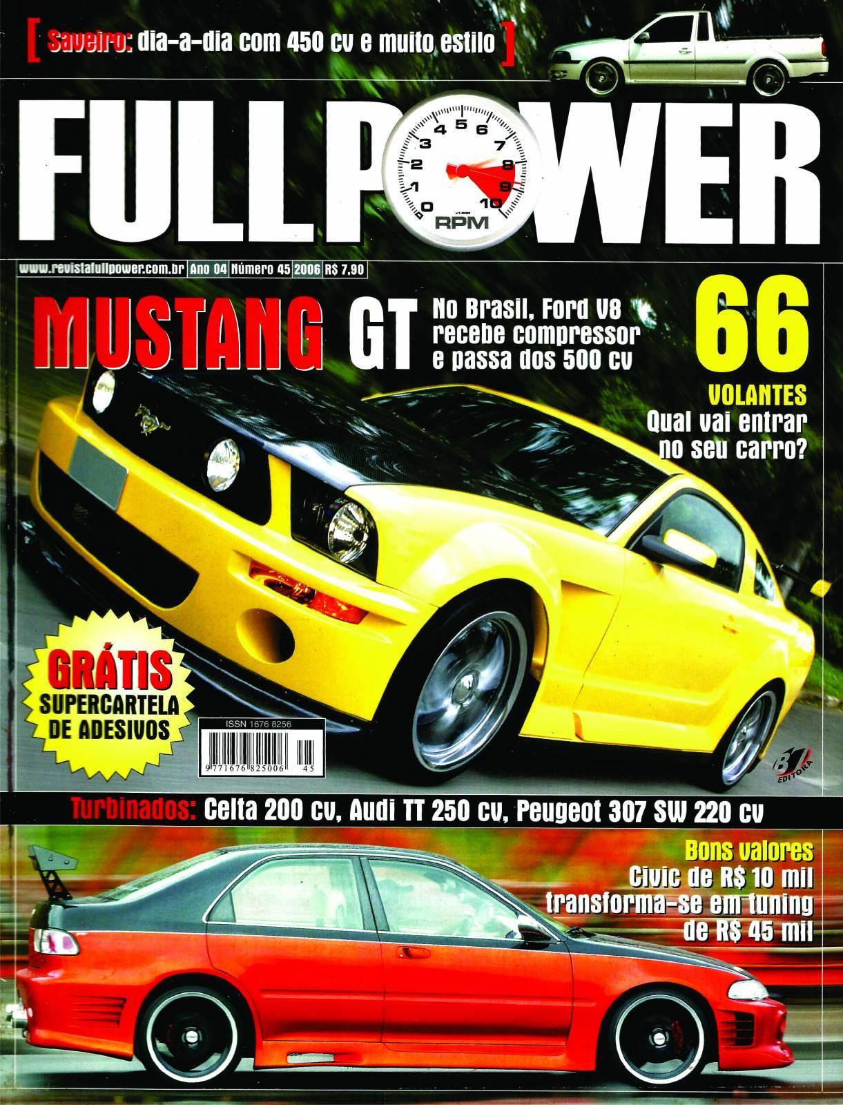 REVISTA FULLPOWER No. 45 ANO 2006 - Loja FullPower