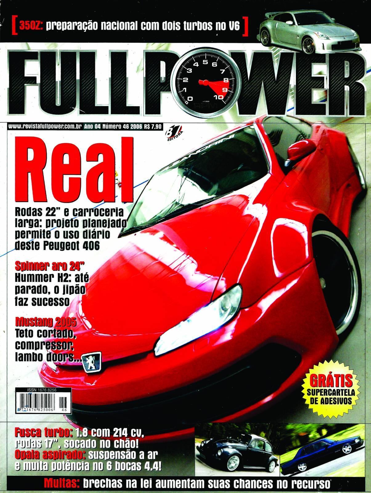 REVISTA FULLPOWER No. 46 ANO 2006 - Loja FullPower