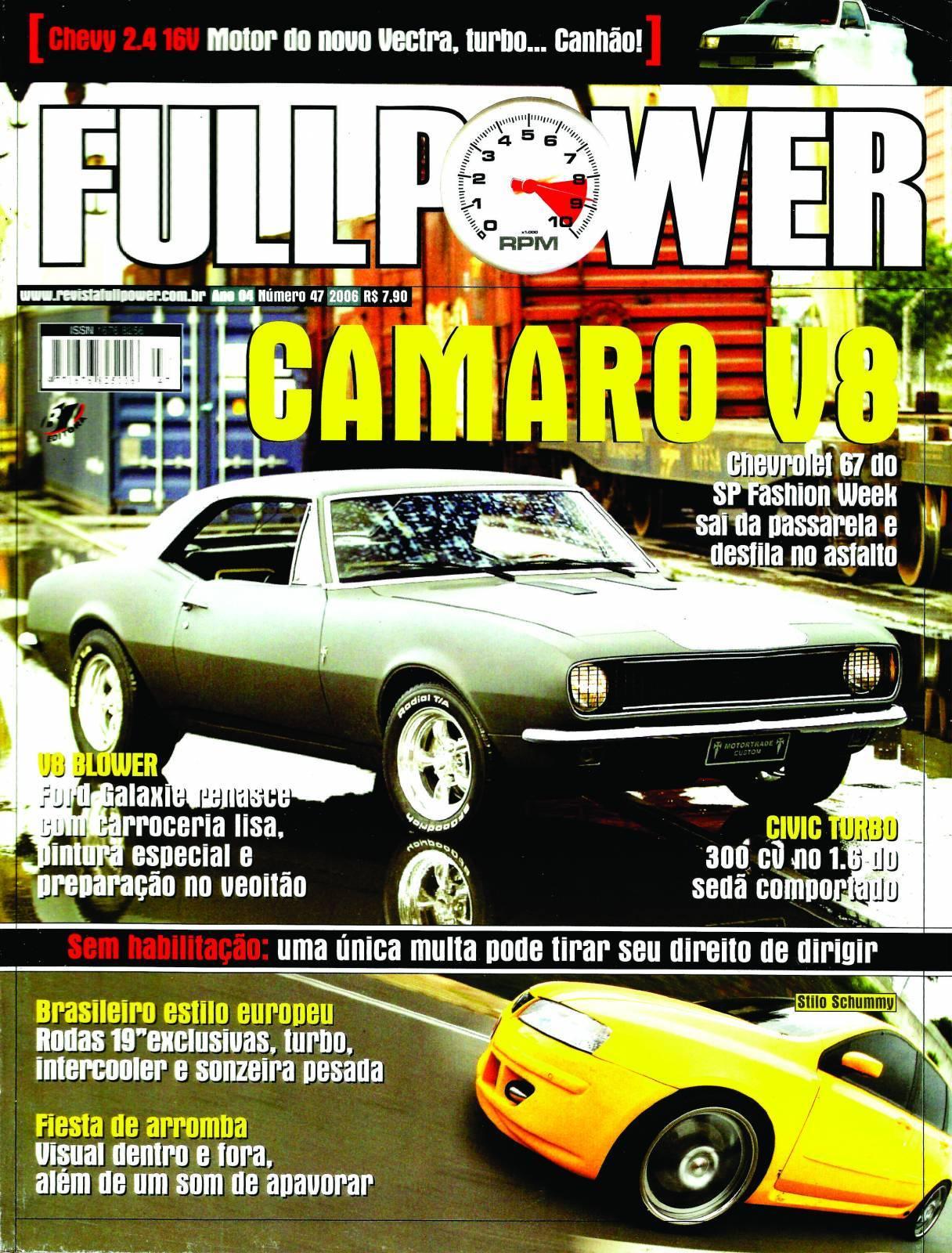 REVISTA FULLPOWER No. 47 ANO 2006 - Loja FullPower