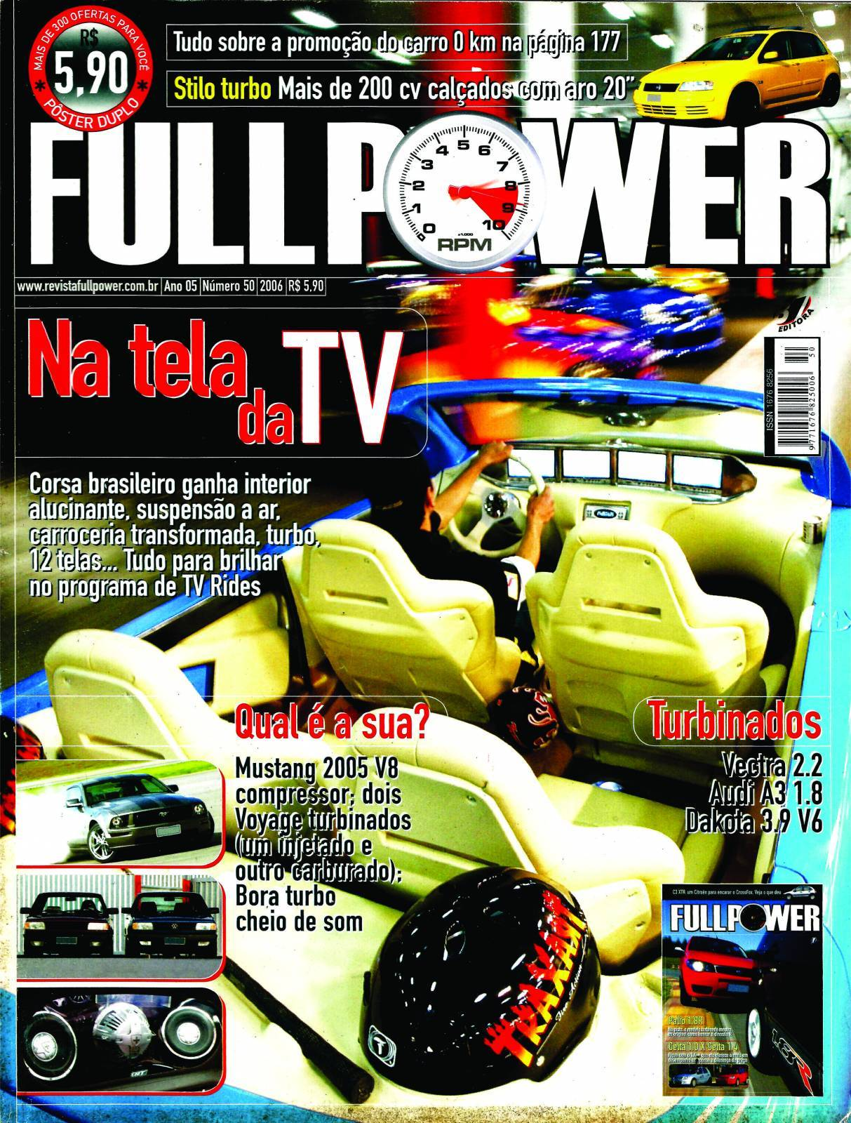 REVISTA FULLPOWER No. 50 ANO 2006 - Loja FullPower