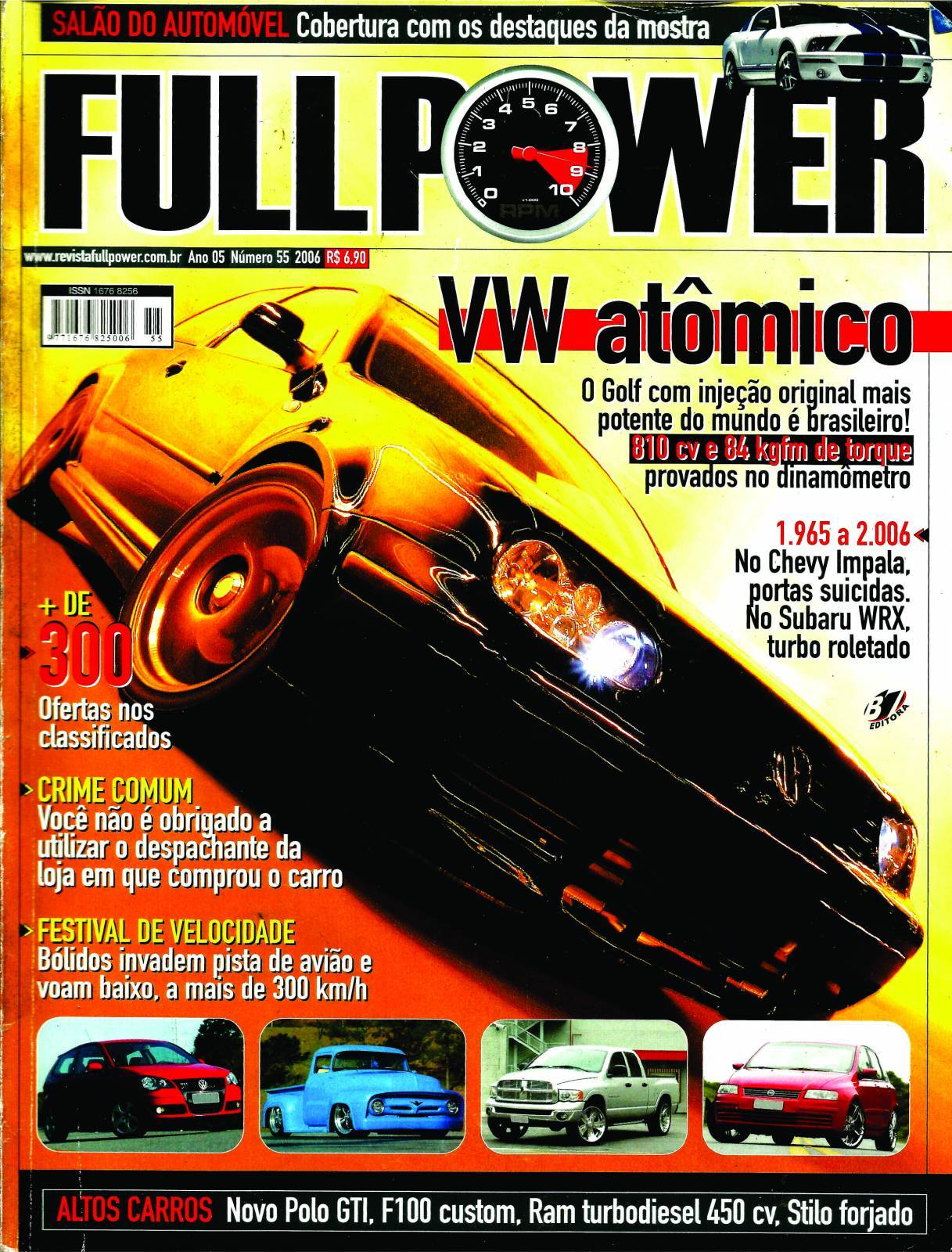 REVISTA FULLPOWER No. 55 ANO 2006 - Loja FullPower