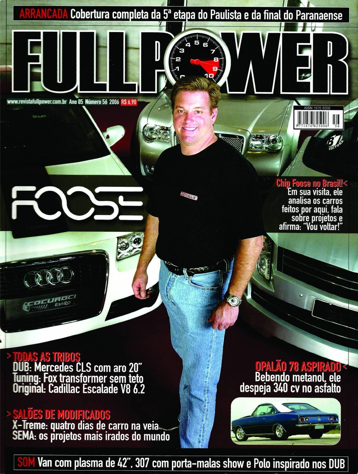 REVISTA FULLPOWER No. 56 ANO 2006 - Loja FullPower