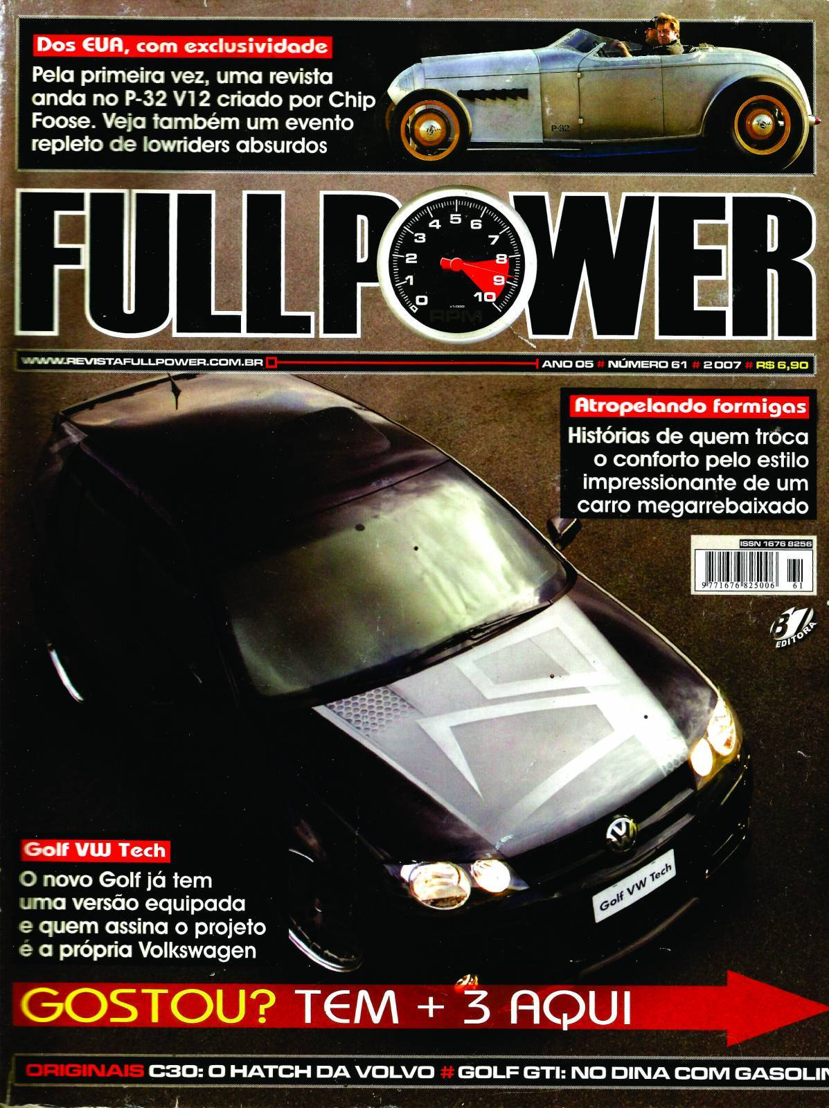 REVISTA FULLPOWER No. 61 ANO 2007 - Loja FullPower