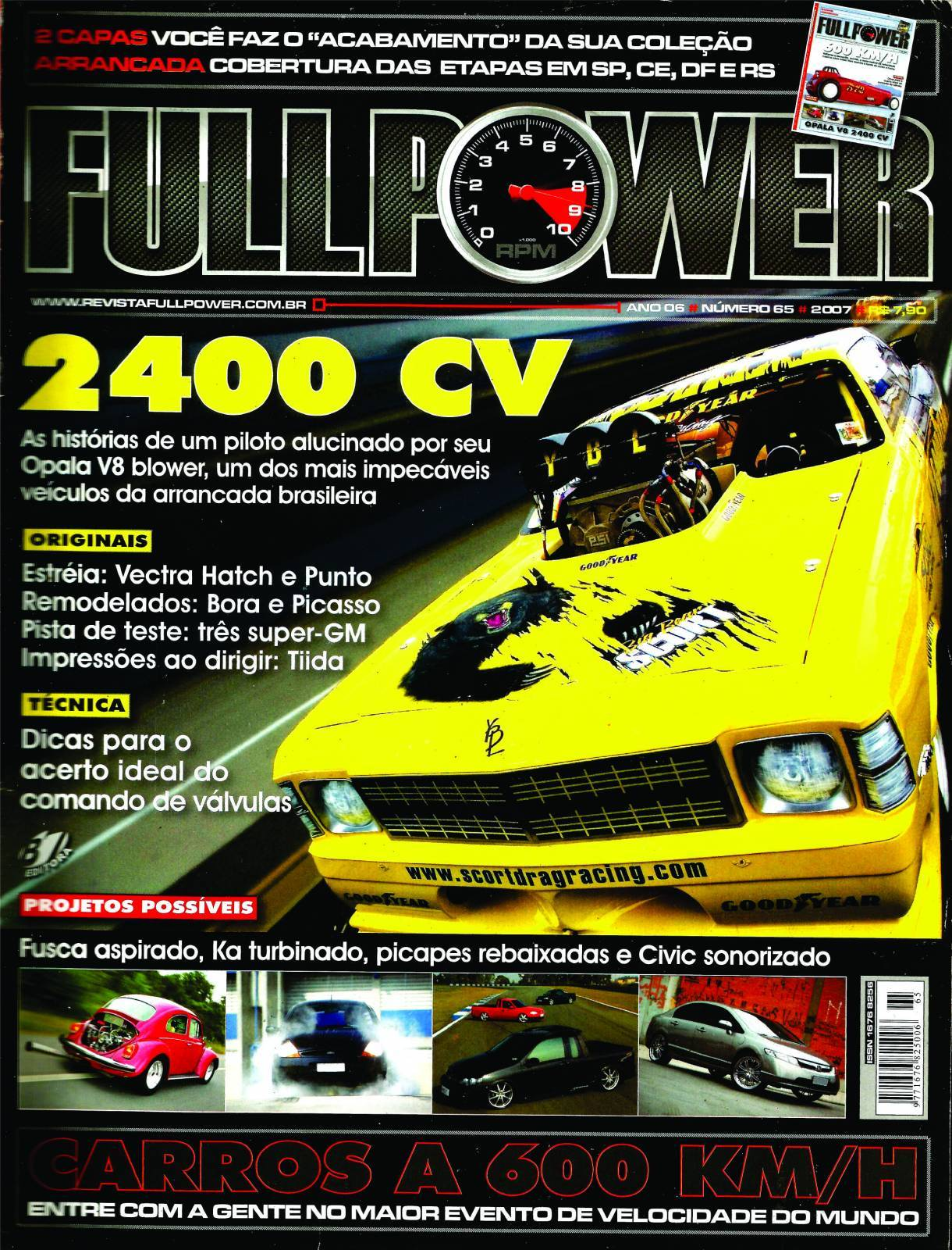 REVISTA FULLPOWER No. 65 ANO 2007 - Loja FullPower
