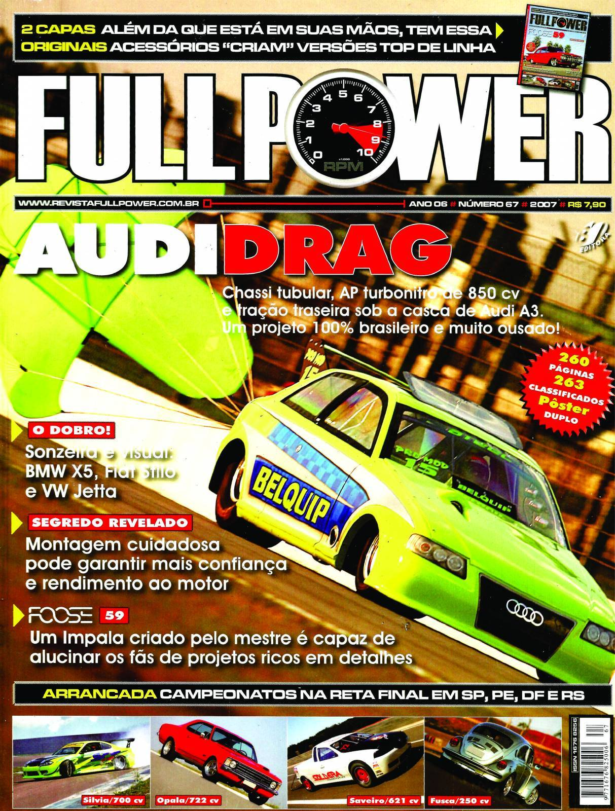 REVISTA FULLPOWER No. 67 ANO 2007 - Loja FullPower