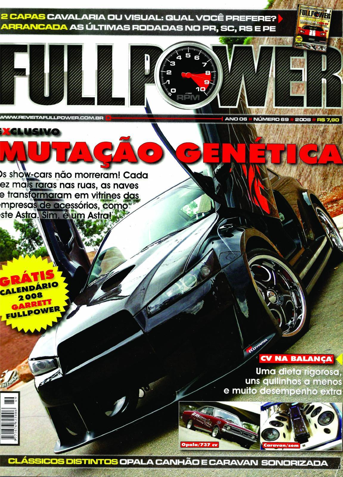 REVISTA FULLPOWER No. 69 ANO 2008 - Loja FullPower