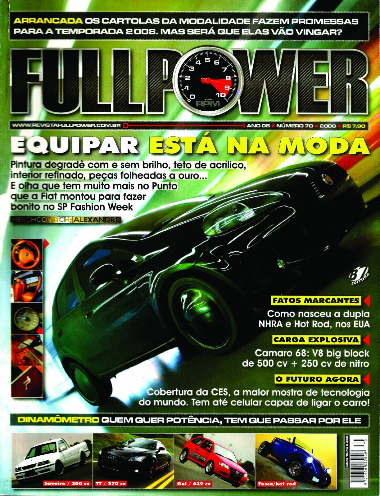 REVISTA FULLPOWER No. 70 ANO 2008 - Loja FullPower