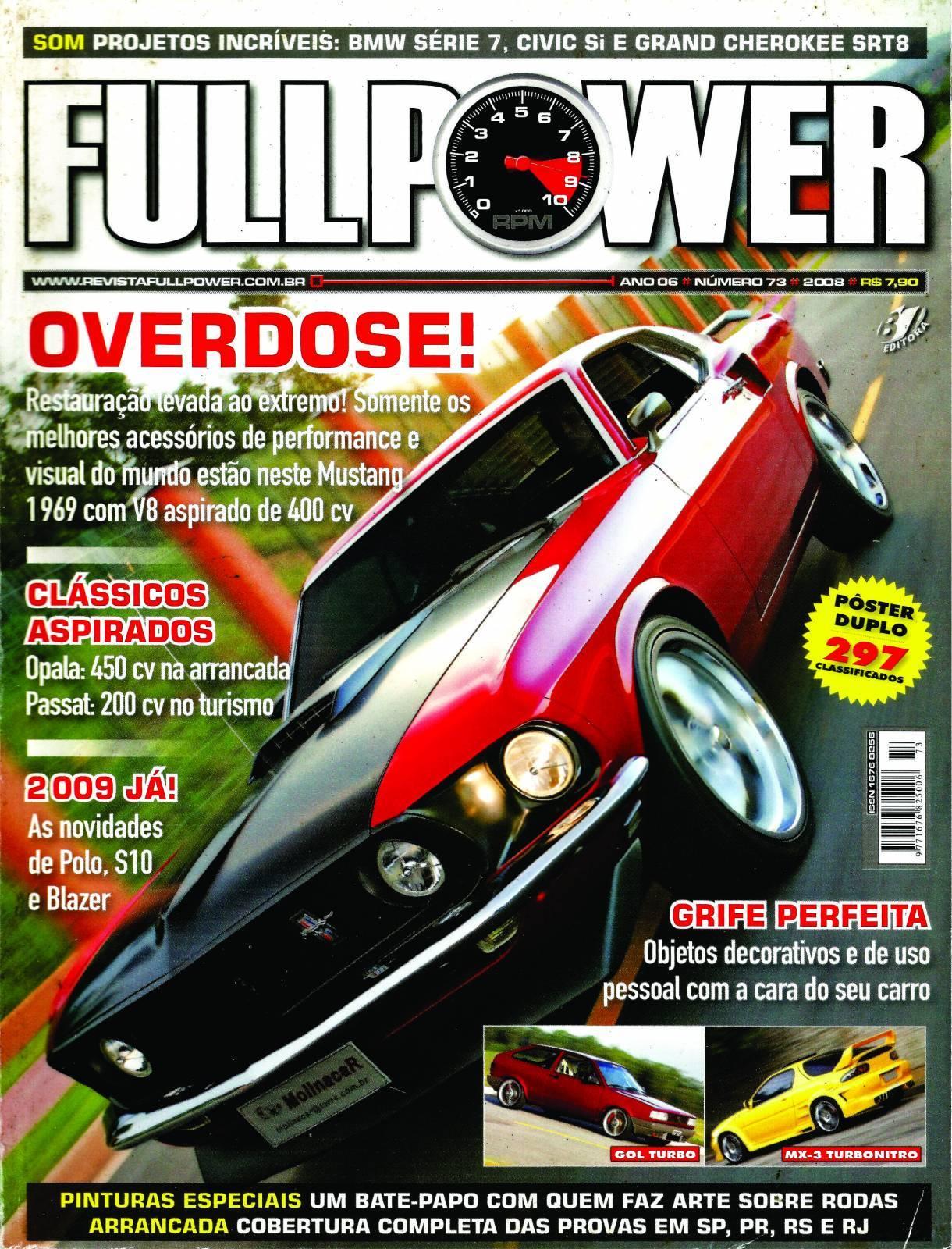 REVISTA FULLPOWER No. 73 ANO 2008 - Loja FullPower