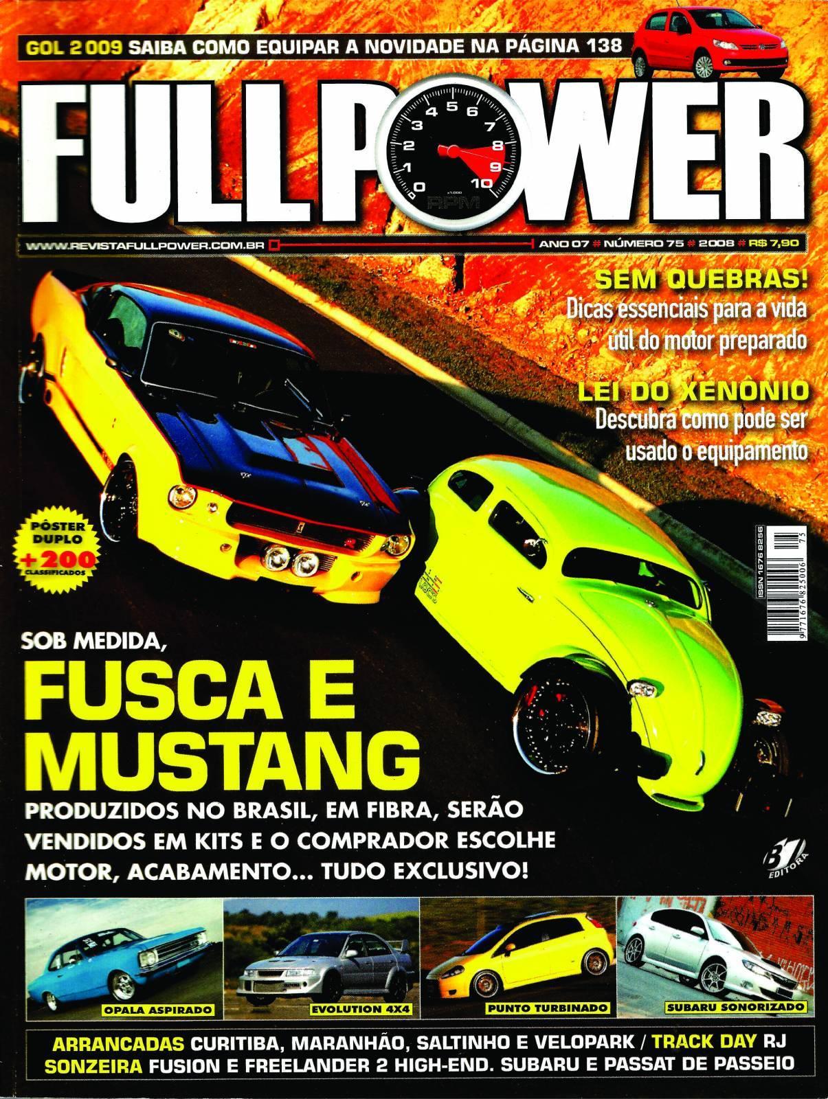 REVISTA FULLPOWER No. 75 ANO 2008 - Loja FullPower