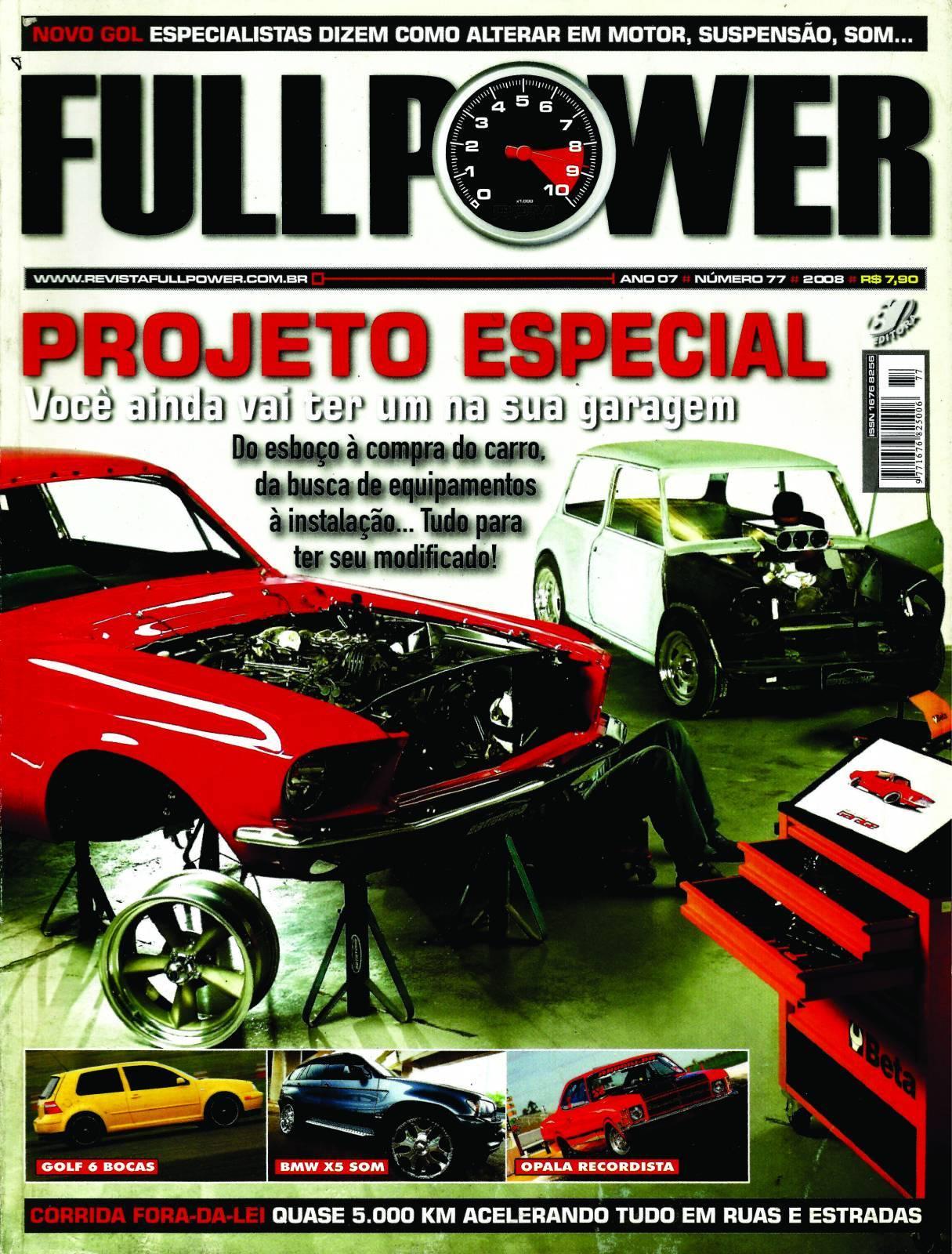 REVISTA FULLPOWER No. 77 ANO 2008 - Loja FullPower