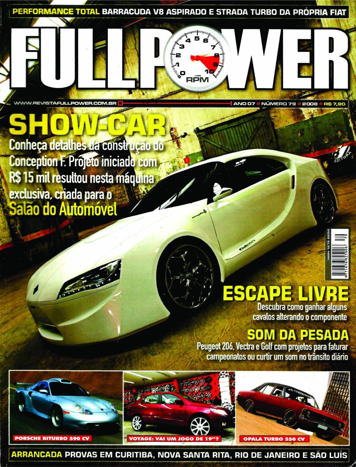 REVISTA FULLPOWER No. 79 ANO 2008 - Loja FullPower