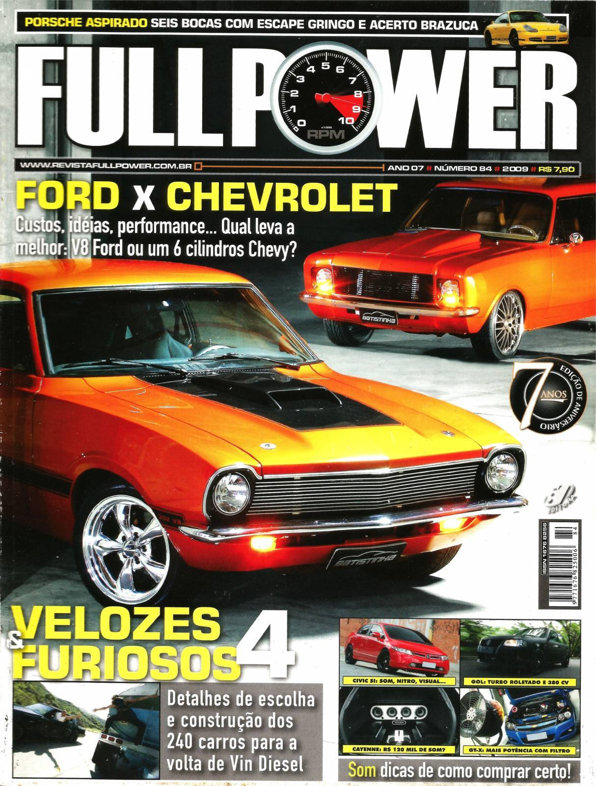 REVISTA FULLPOWER No. 84 ANO 2009 - Loja FullPower