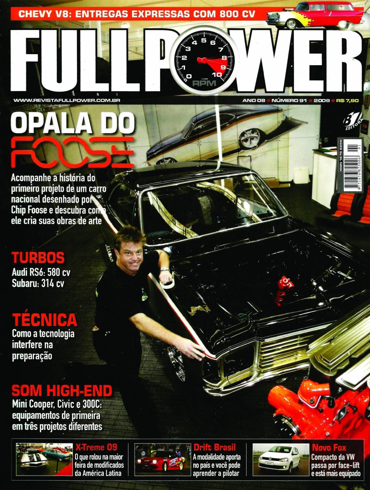 REVISTA FULLPOWER No. 91 ANO 2009 - Loja FullPower