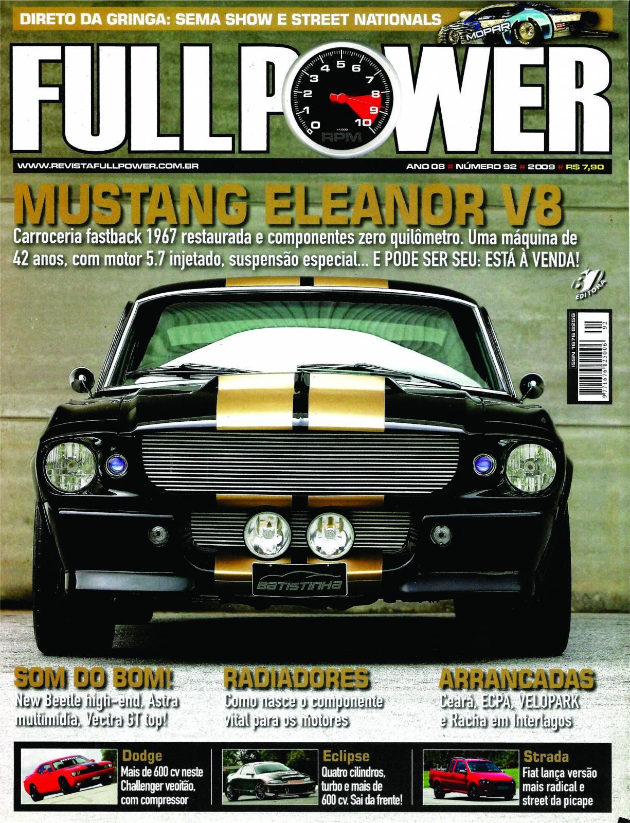 REVISTA FULLPOWER No. 92 ANO 2009 - Loja FullPower