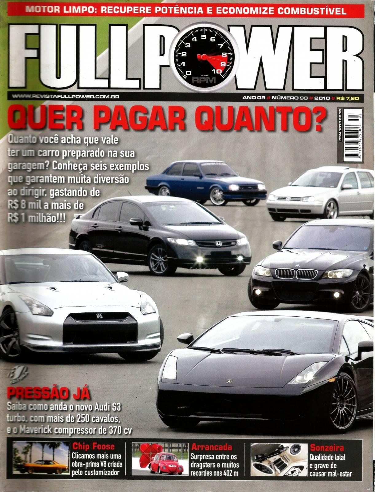 REVISTA FULLPOWER No. 93 ANO 2010 - Loja FullPower