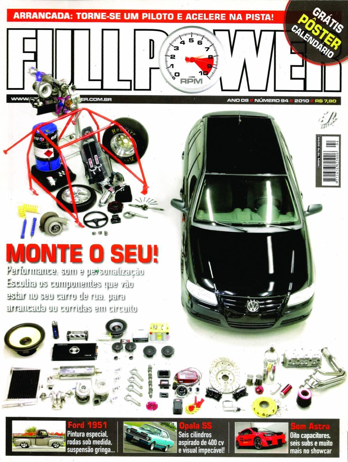REVISTA FULLPOWER No. 94 ANO 2010 - Loja FullPower