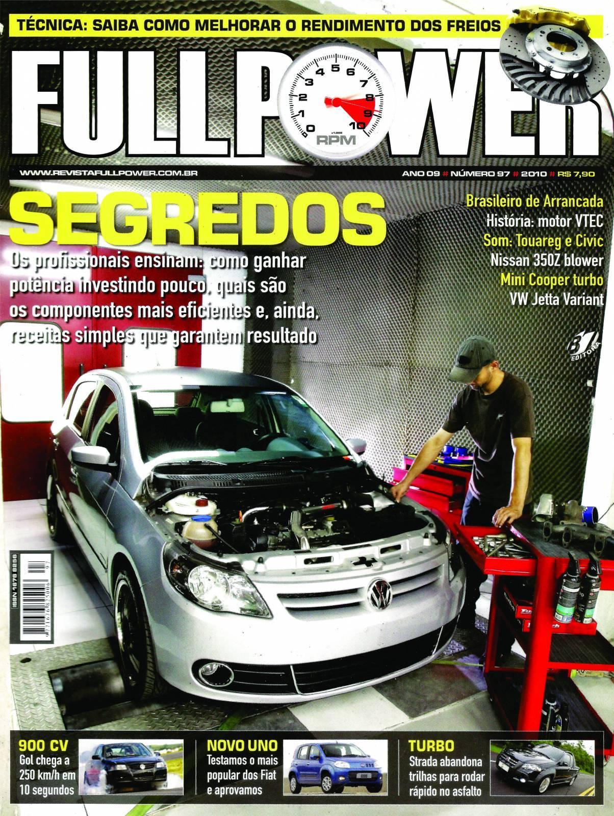 REVISTA FULLPOWER No. 97 ANO 2010 - Loja FullPower