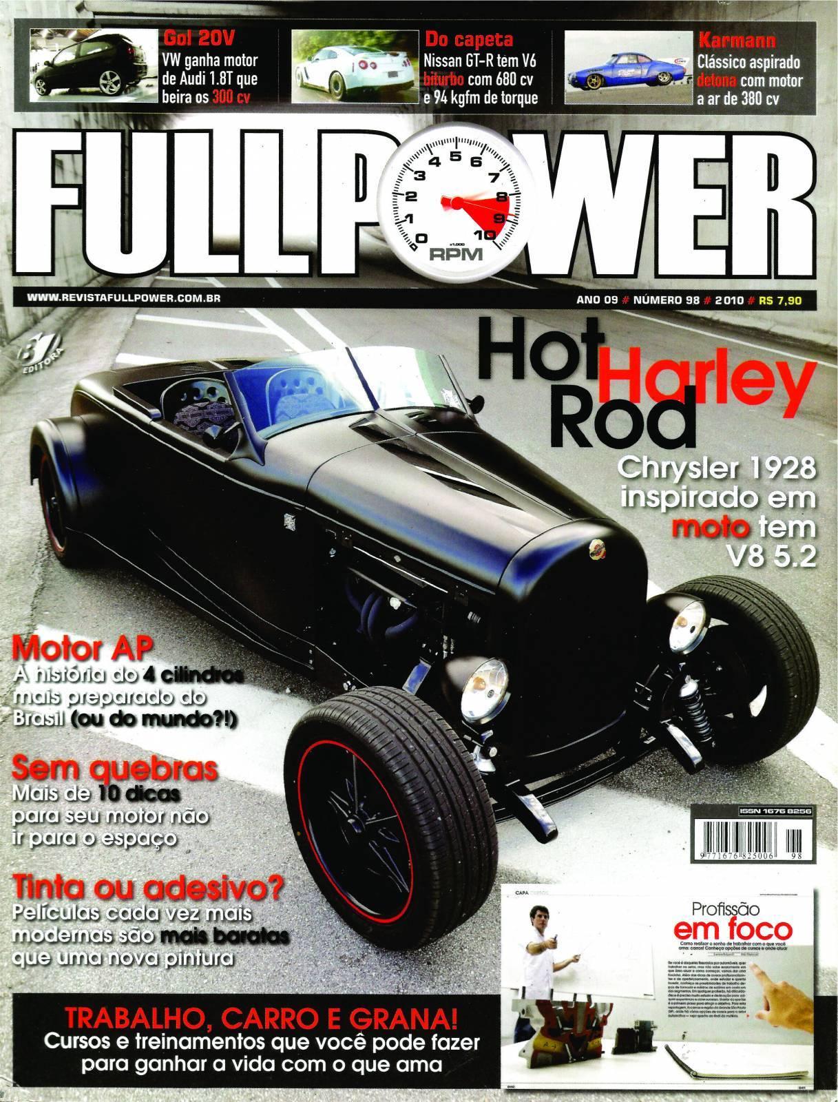 REVISTA FULLPOWER No. 98 ANO 2010 - Loja FullPower