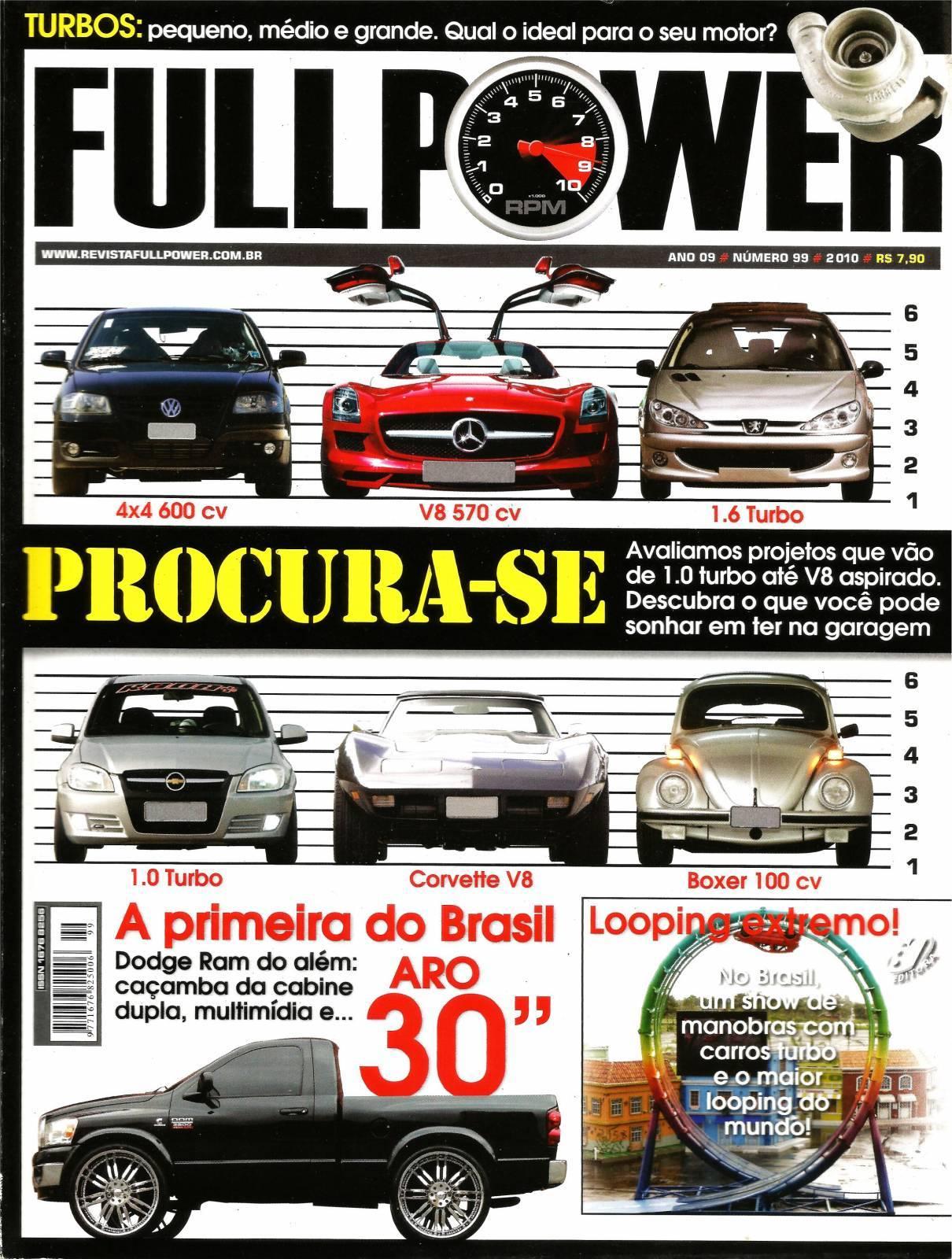 REVISTA FULLPOWER No. 99 ANO 2010 - Loja FullPower