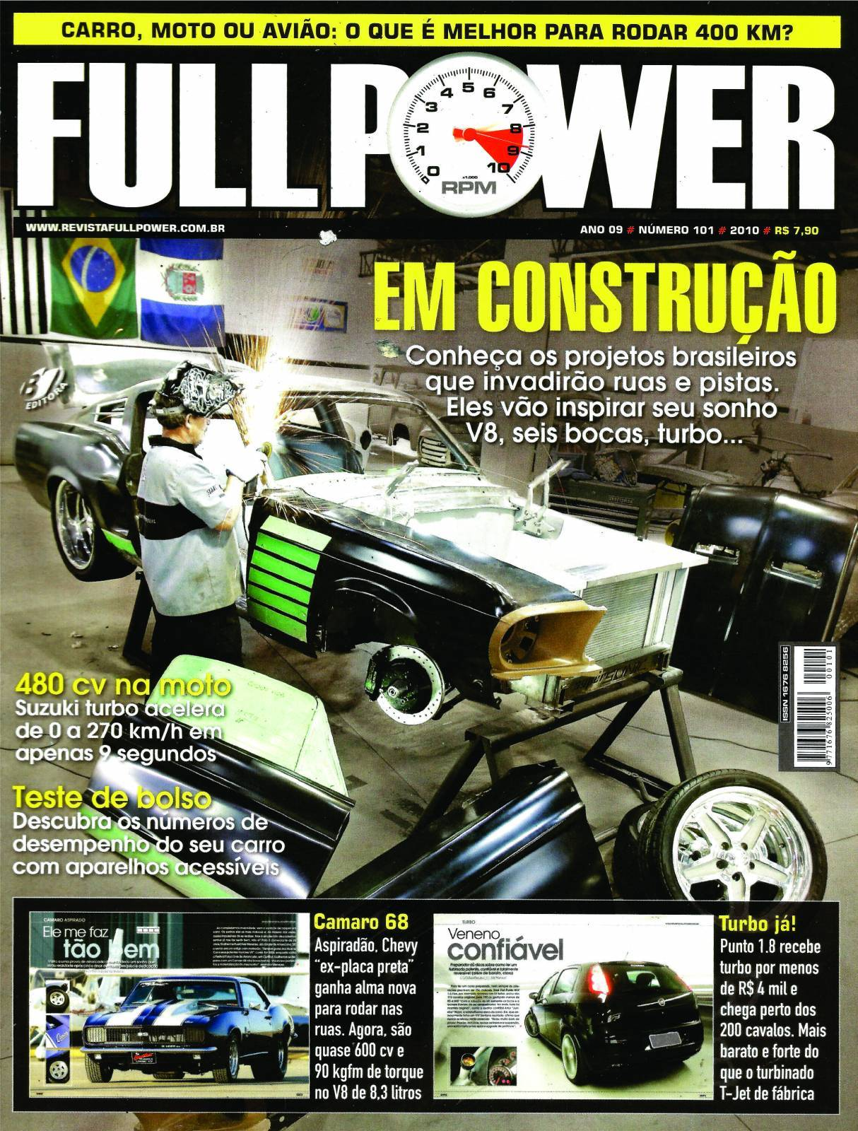 REVISTA FULLPOWER No. 101 ANO 2010 - Loja FullPower