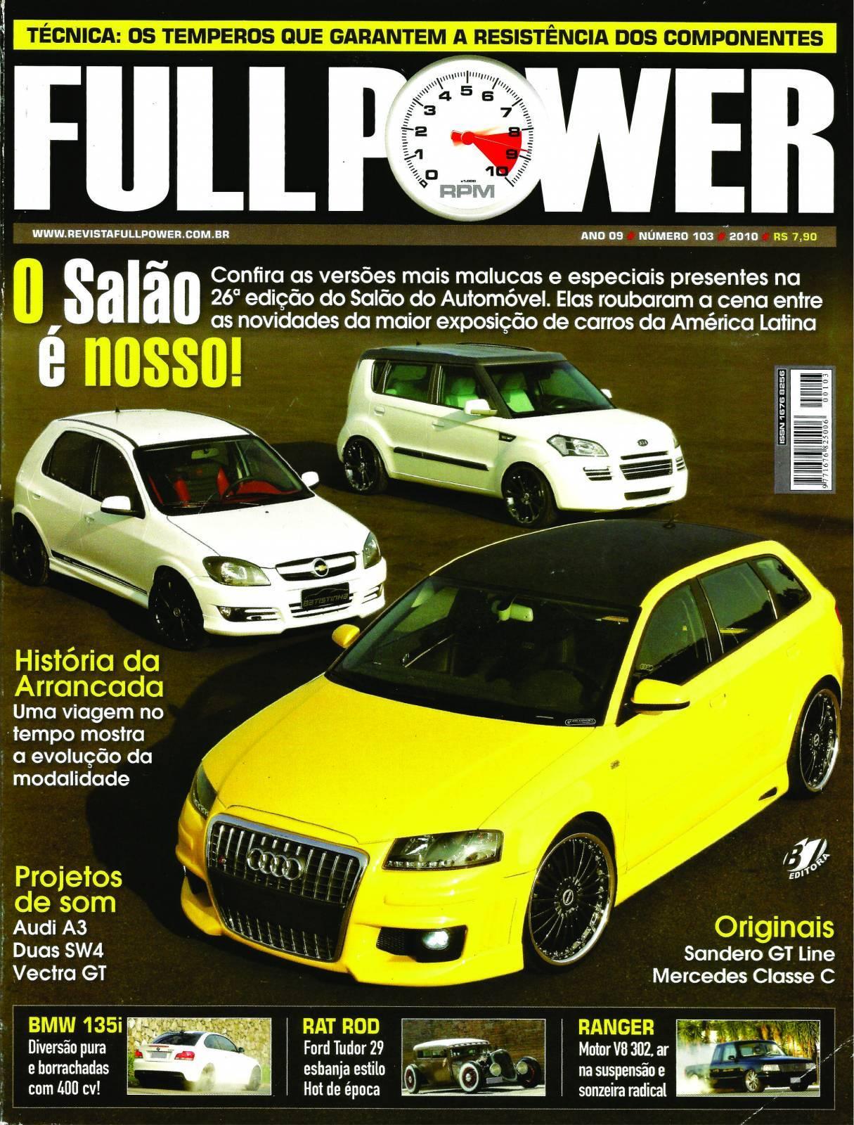 REVISTA FULLPOWER No. 103 ANO 2010 - Loja FullPower