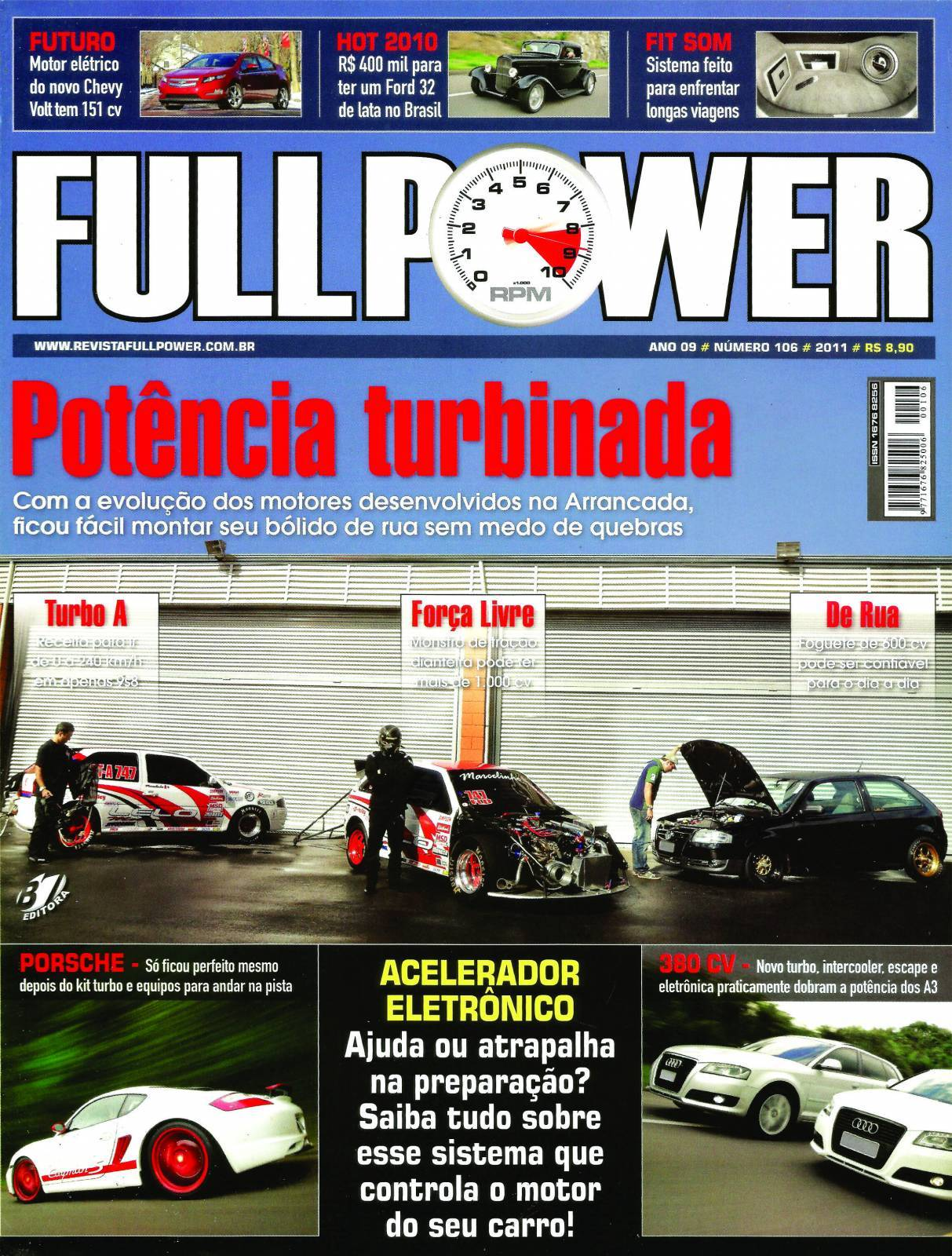 REVISTA FULLPOWER No. 106 ANO 2011 - Loja FullPower