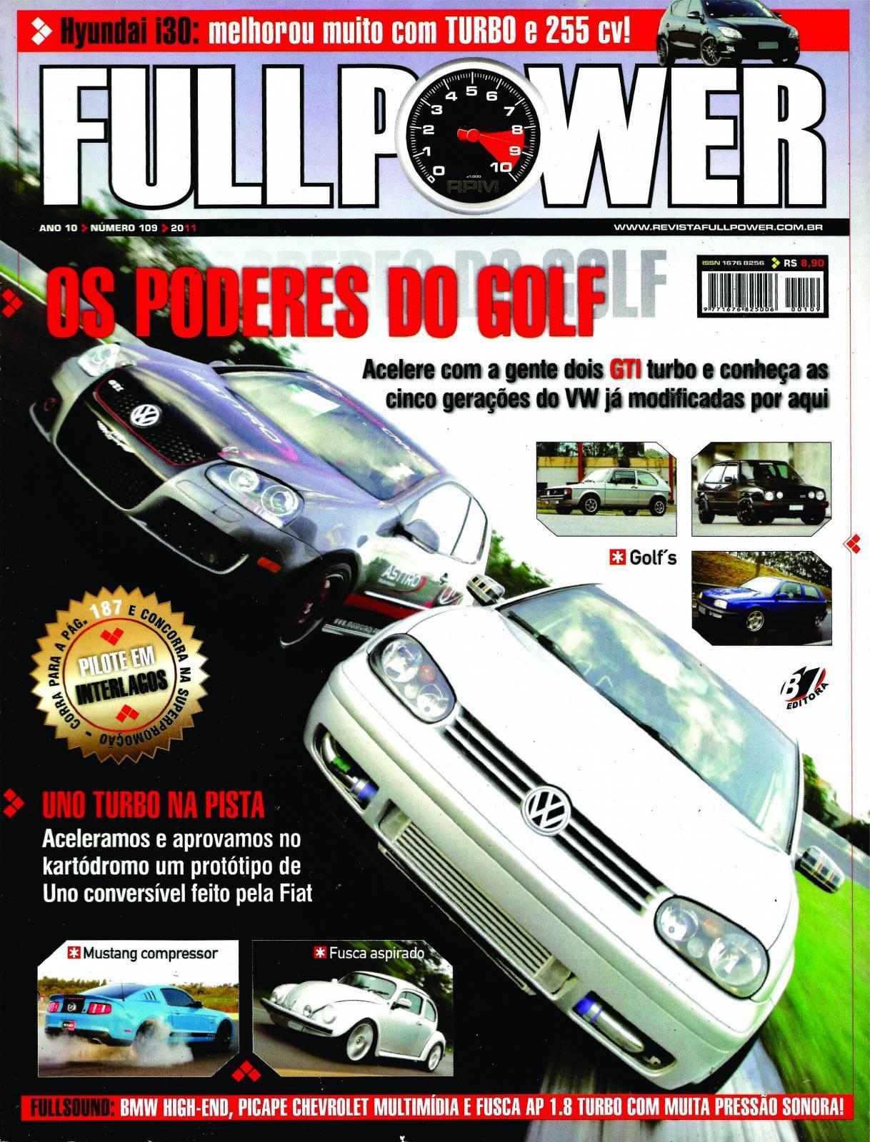 REVISTA FULLPOWER No. 109 ANO 2011 - Loja FullPower