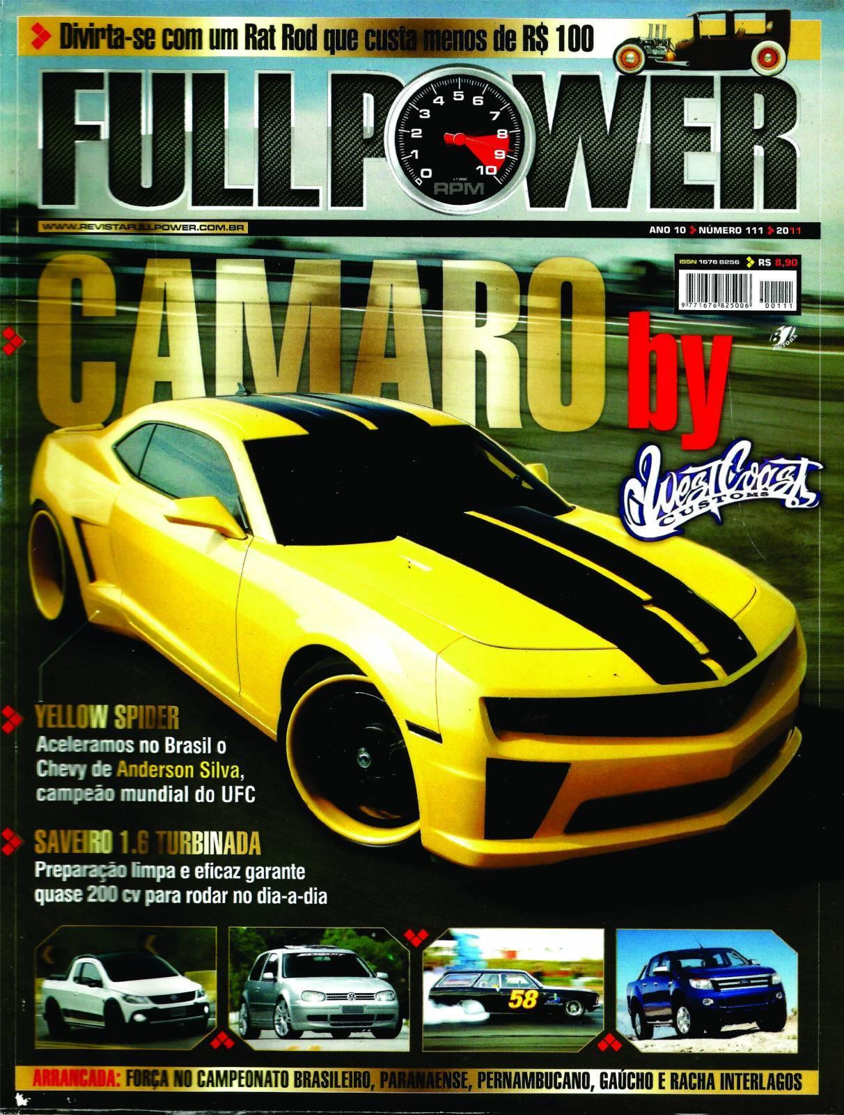 REVISTA FULLPOWER No. 111 ANO 2011 - Loja FullPower