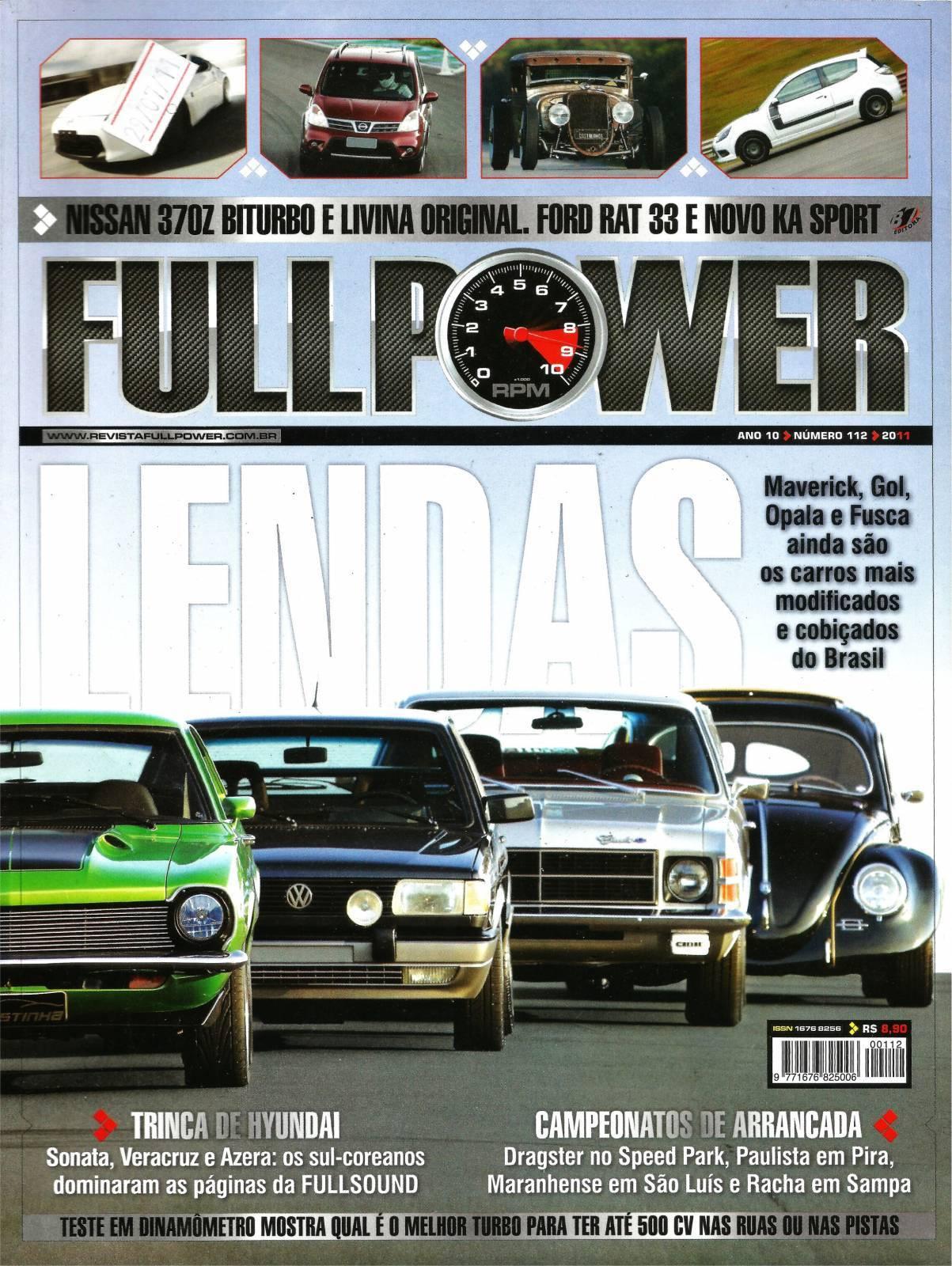 REVISTA FULLPOWER No. 112 ANO 2011 - Loja FullPower