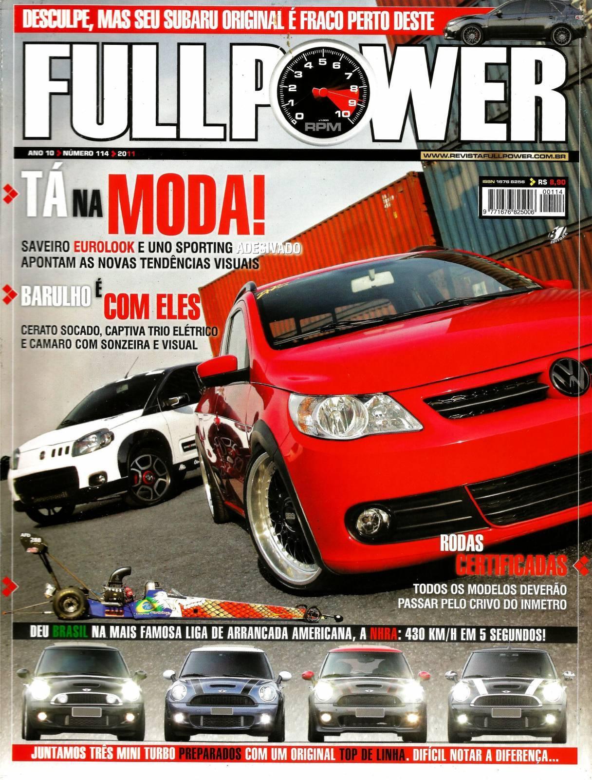 REVISTA FULLPOWER No. 114 ANO 2011 - Loja FullPower