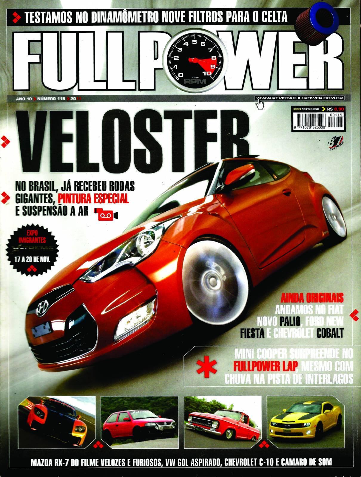 REVISTA FULLPOWER No. 115 ANO 2011 - Loja FullPower