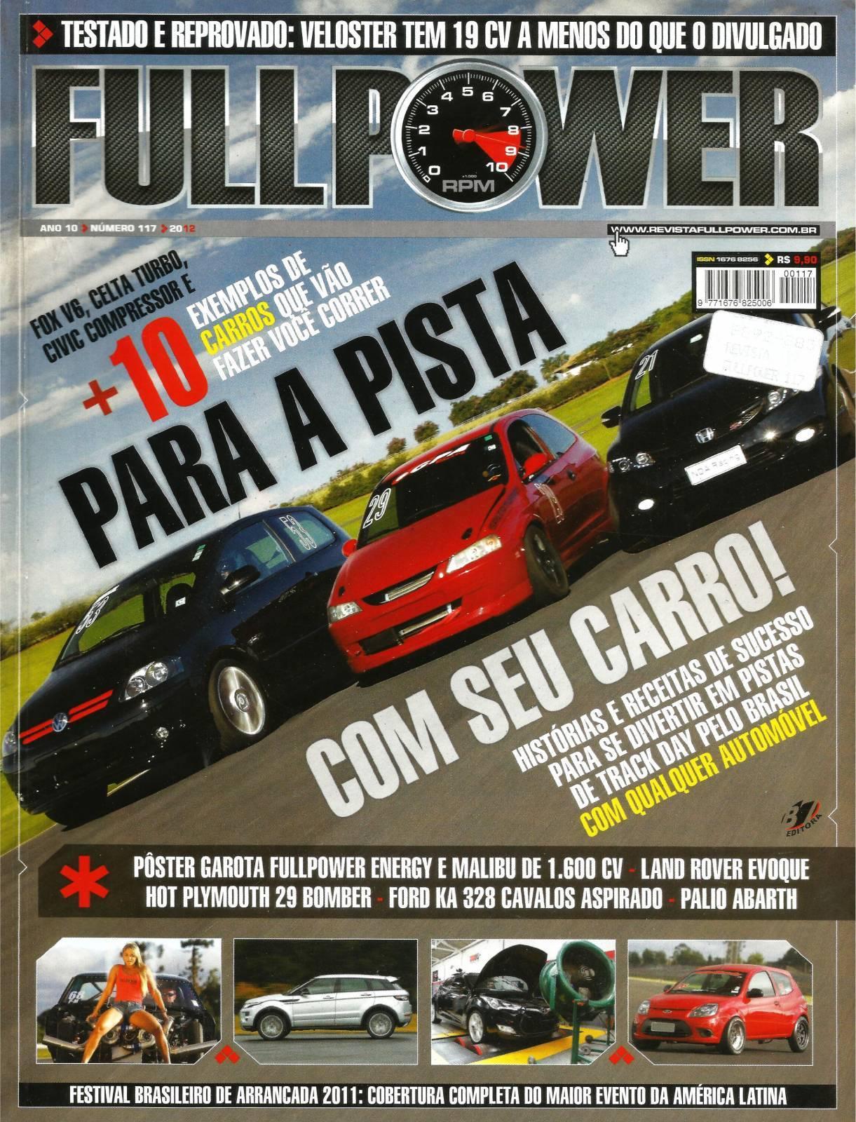 REVISTA FULLPOWER No. 117 ANO 2012 - Loja FullPower