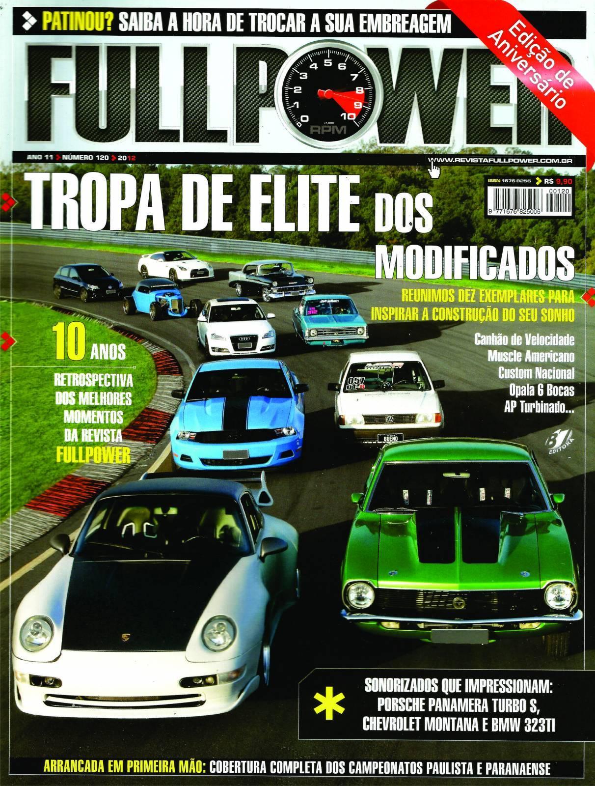 REVISTA FULLPOWER No. 120 ANO 2012 - Loja FullPower