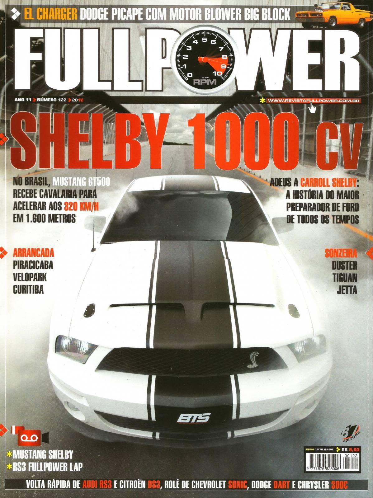 REVISTA FULLPOWER No. 122 ANO 2012 - Loja FullPower