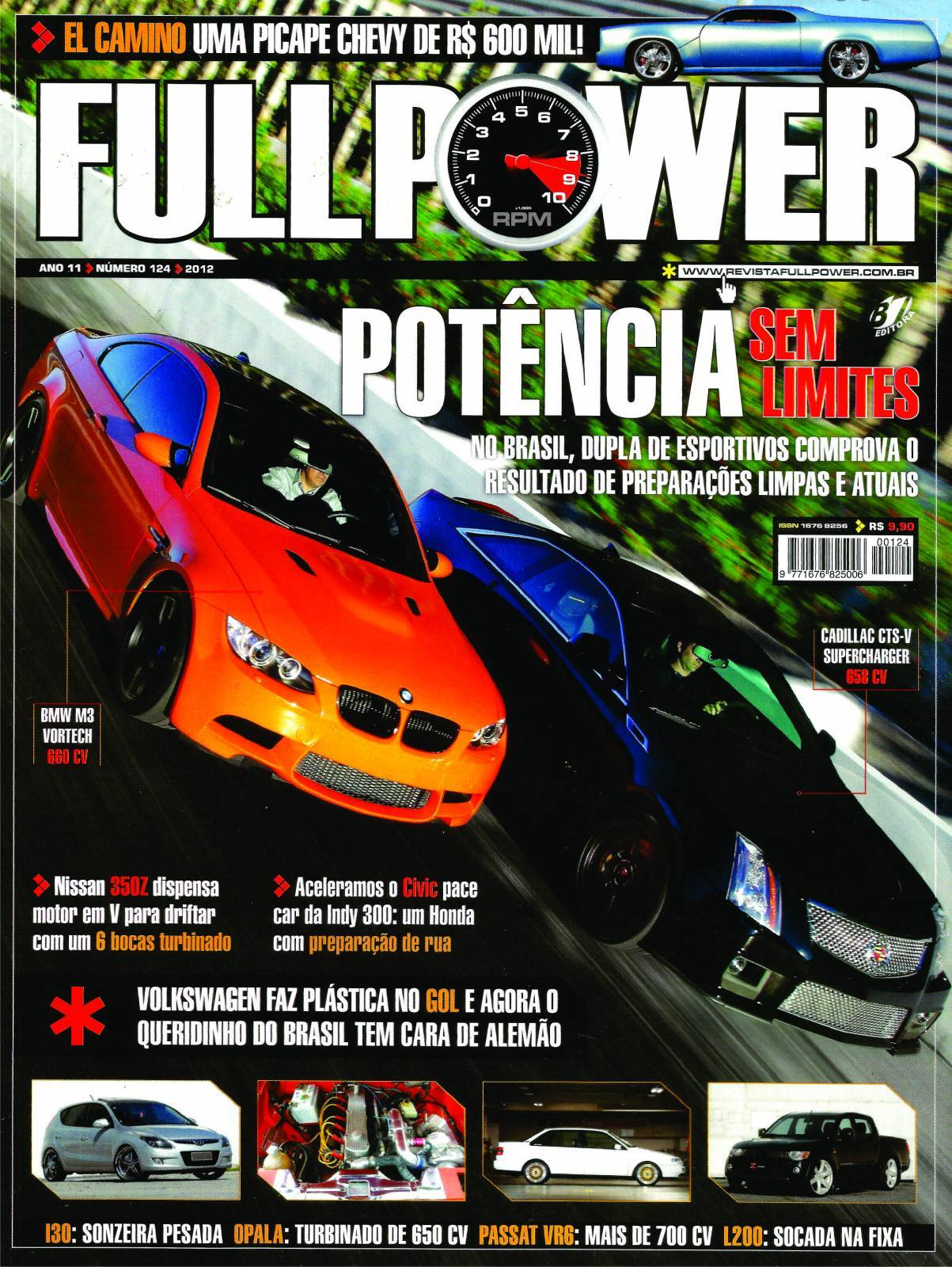 REVISTA FULLPOWER No. 124 ANO 2012 - Loja FullPower