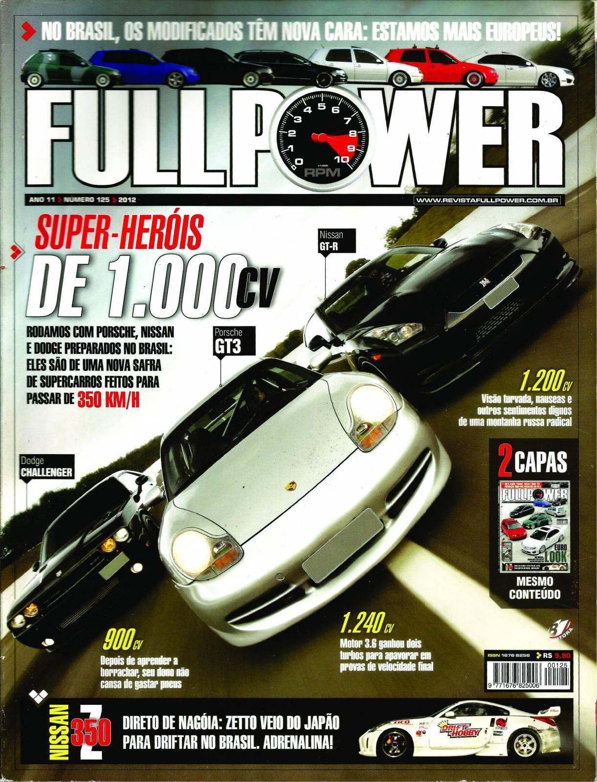 REVISTA FULLPOWER No. 125 ANO 2012 - Loja FullPower