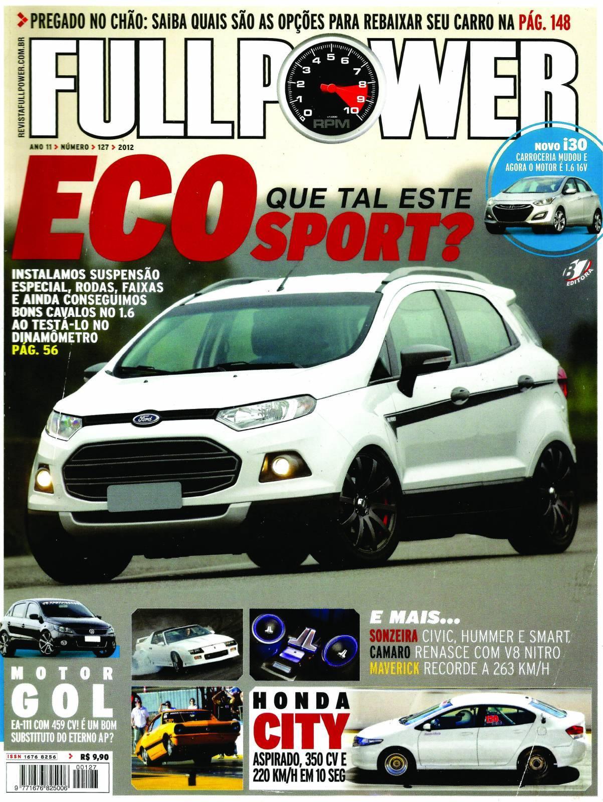 REVISTA FULLPOWER No. 127 ANO 2012 - Loja FullPower