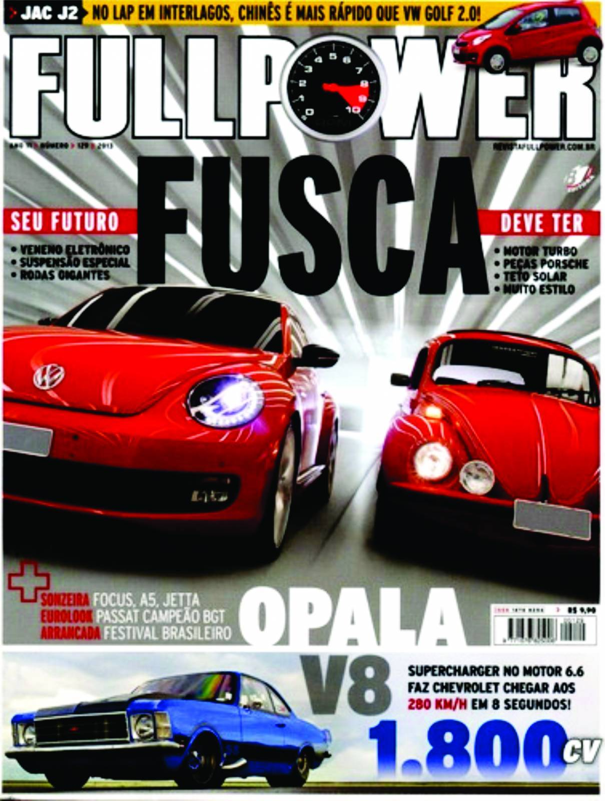 REVISTA FULLPOWER No. 129 ANO 2013 - Loja FullPower