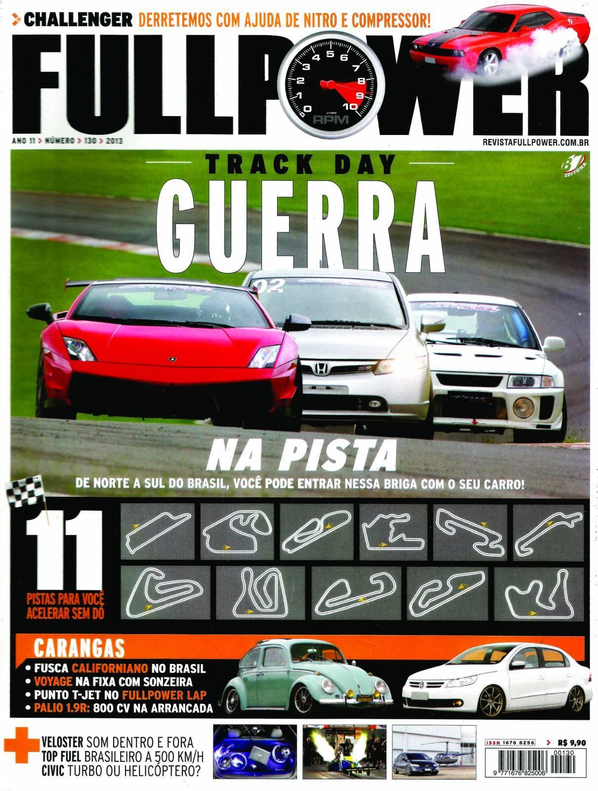 REVISTA FULLPOWER No. 130 ANO 2013 - Loja FullPower