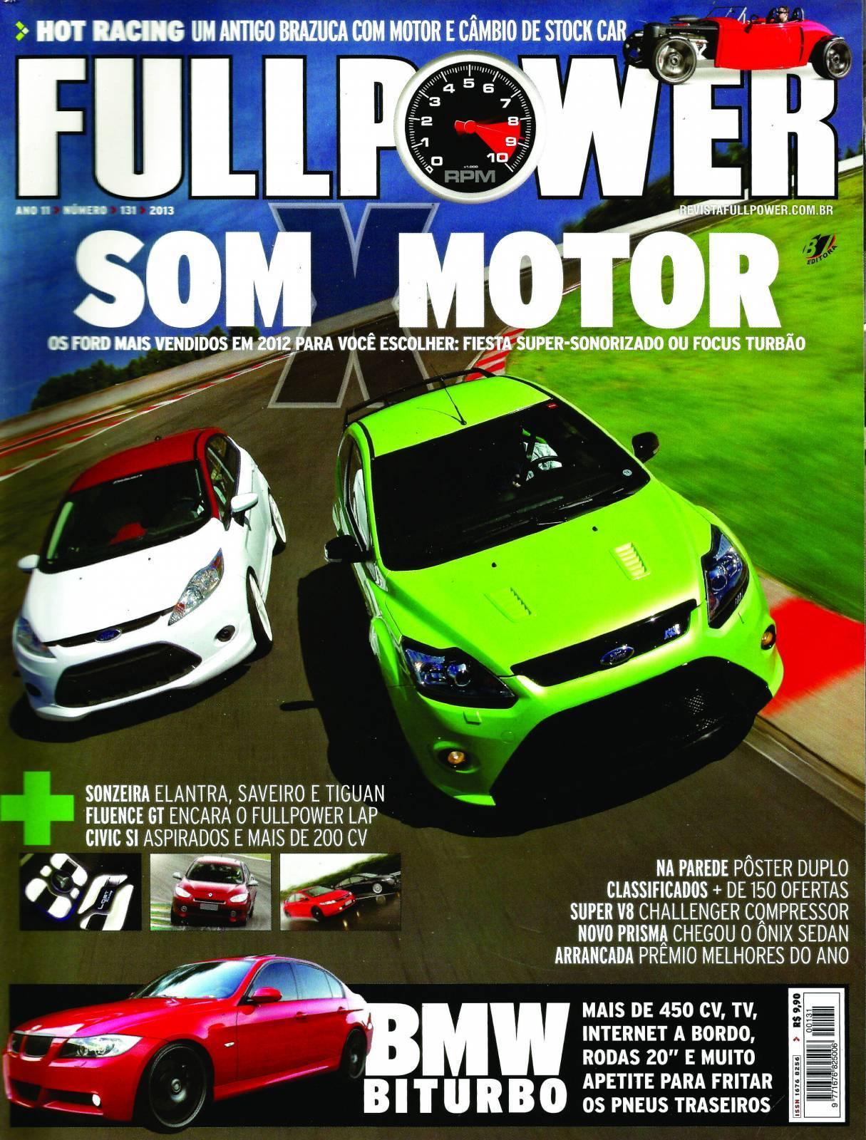 REVISTA FULLPOWER No. 131 ANO 2013 - Loja FullPower