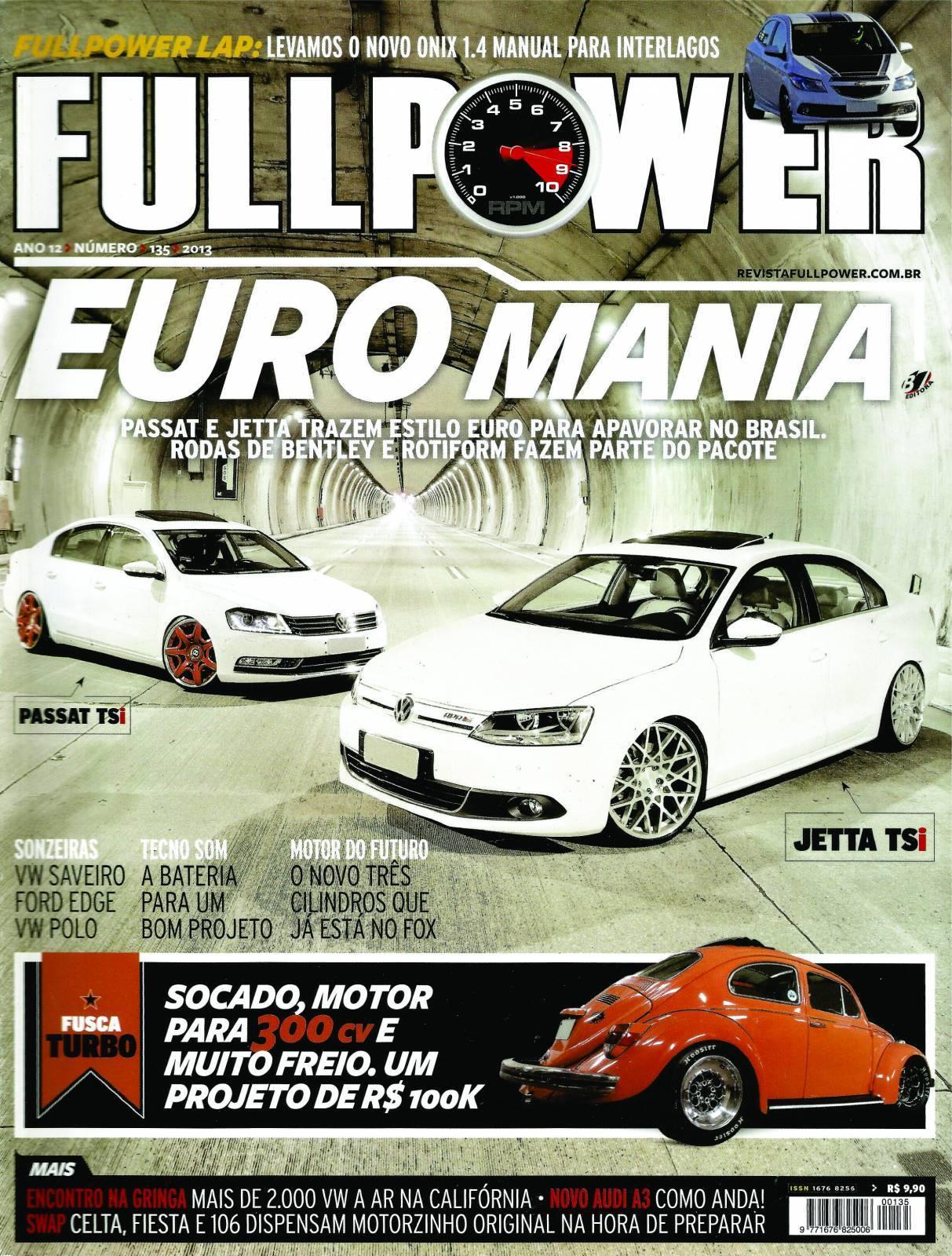 REVISTA FULLPOWER No. 135 ANO 2013 - Loja FullPower