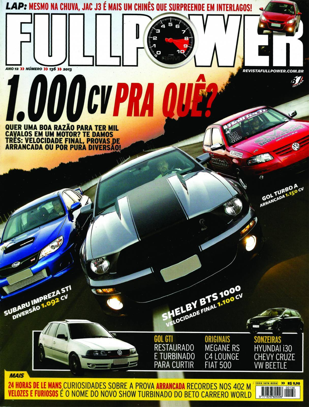 REVISTA FULLPOWER No. 136 ANO 2013 - Loja FullPower