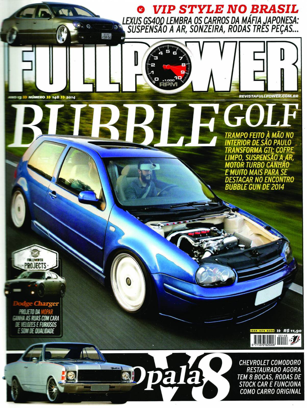 REVISTA FULLPOWER No. 148 ANO 2014 - Loja FullPower